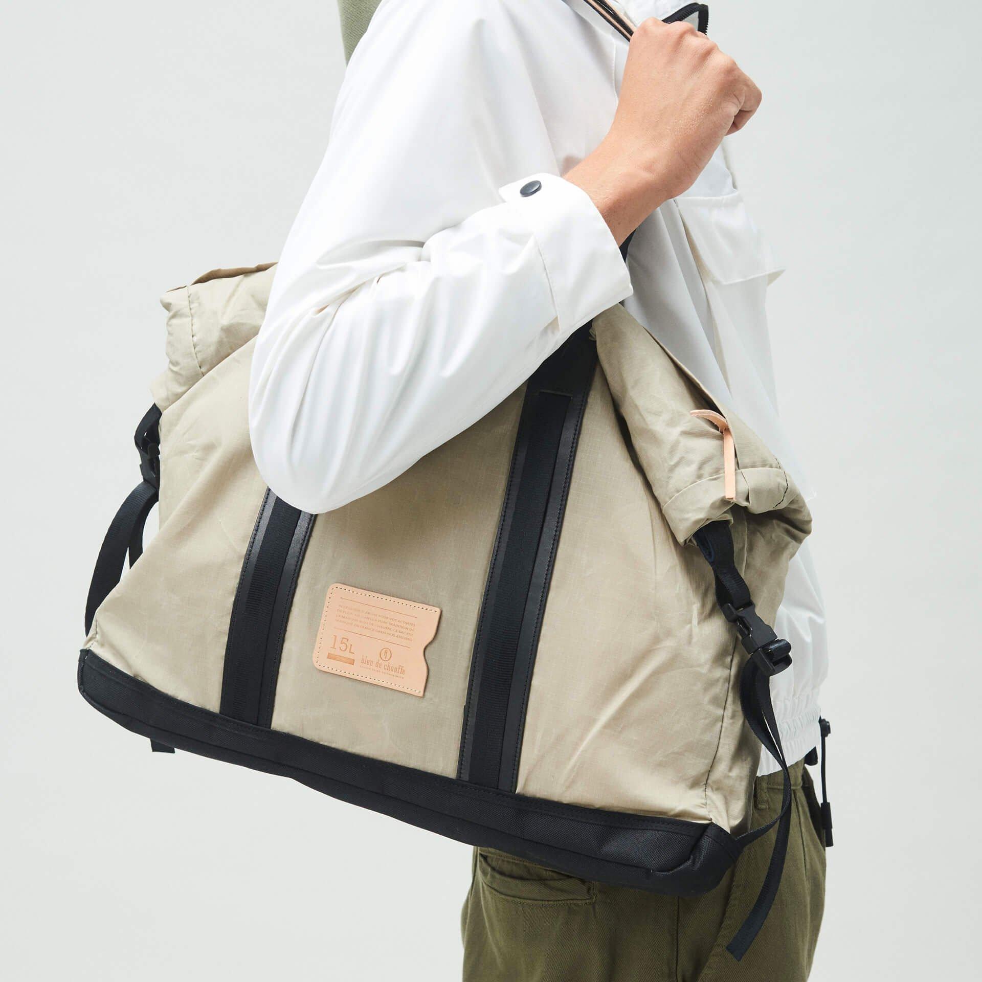 15L Barda Tote bag - Beige (image n°6)