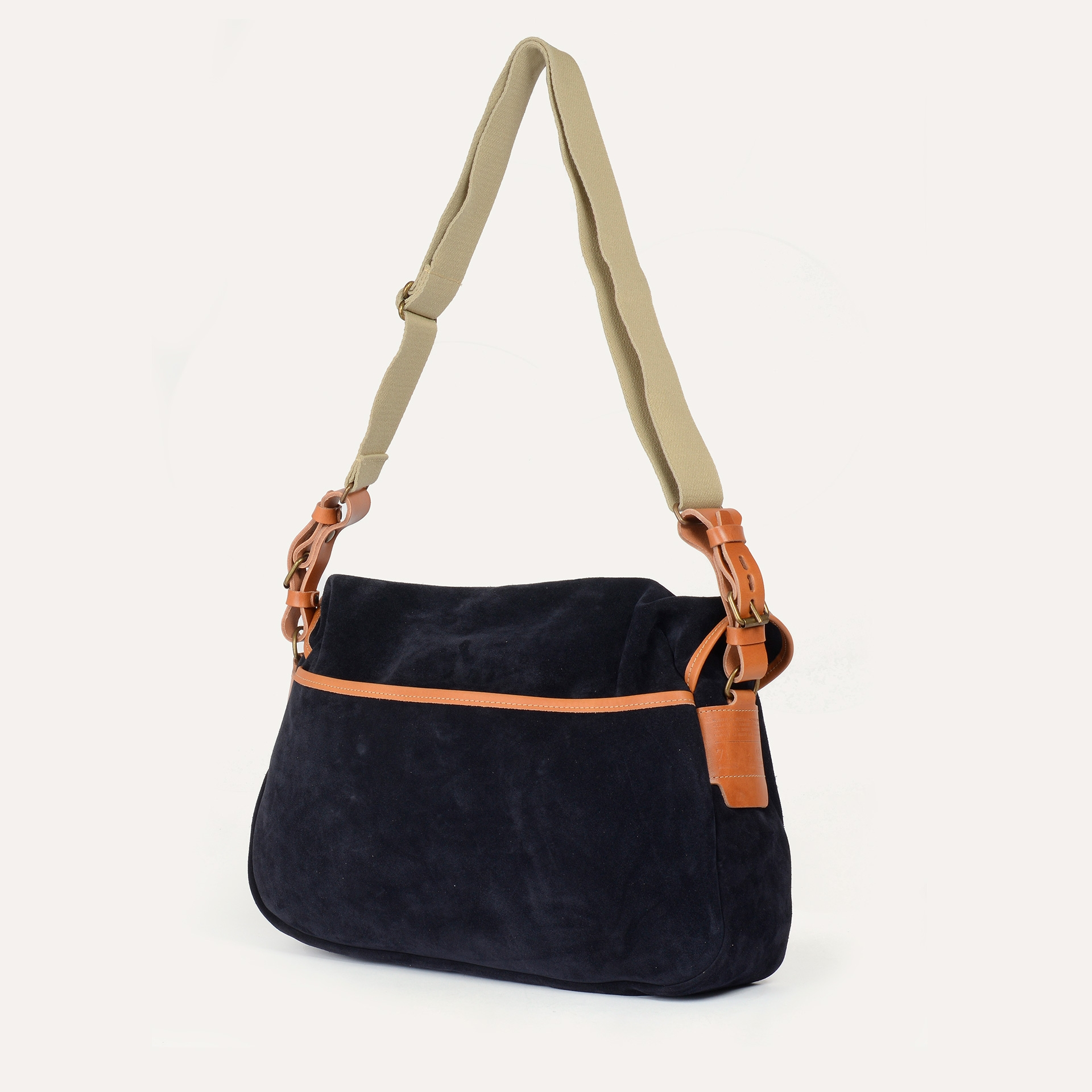 Fisherman's Musette M / Suede - Blue Universe (image n°3)