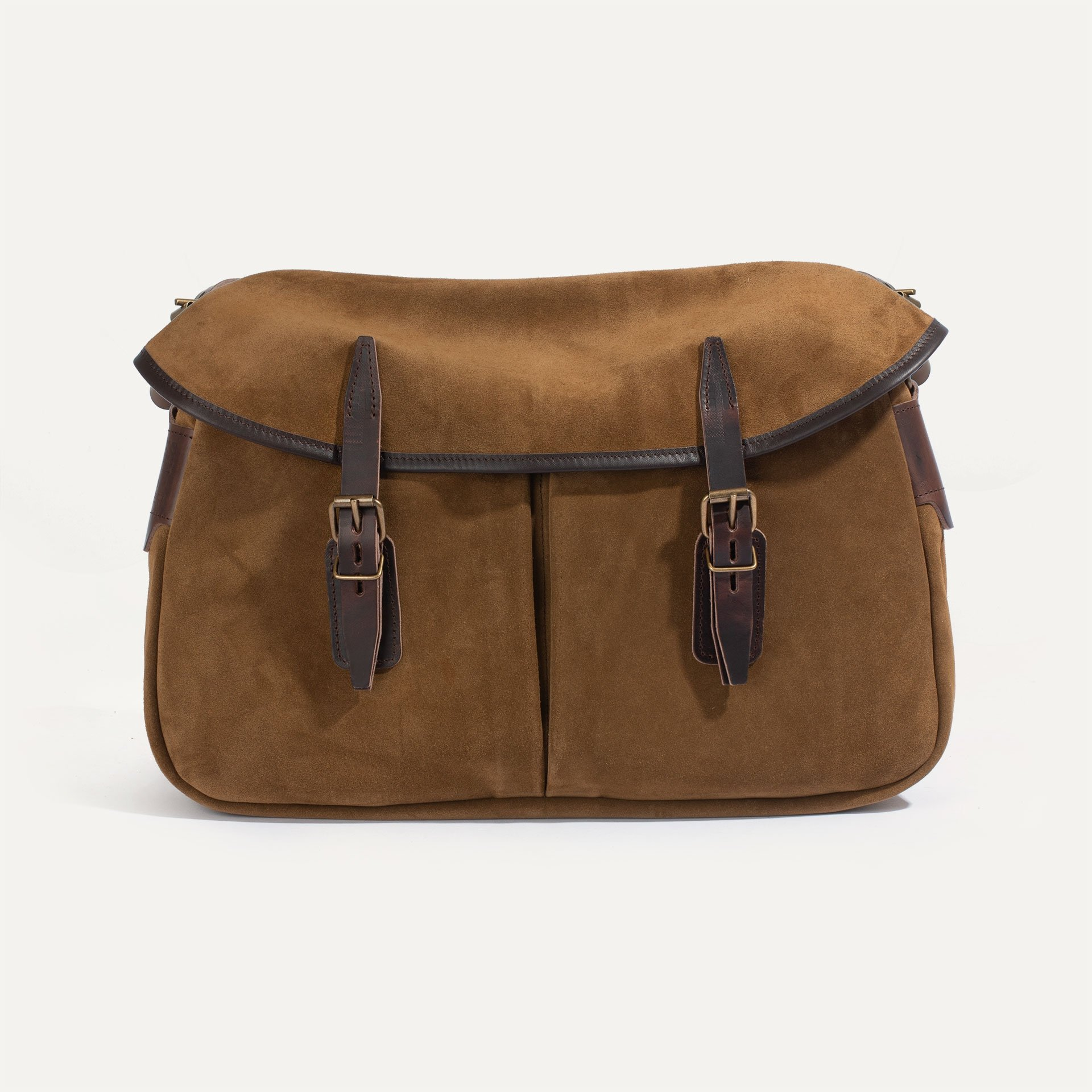 Fisherman's Musette M / Suede - Tobacco (image n°1)