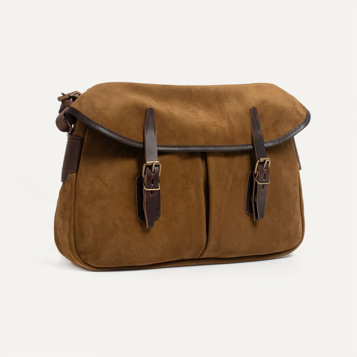 Fisherman's Musette M / Suede - Tobacco (image n°2)