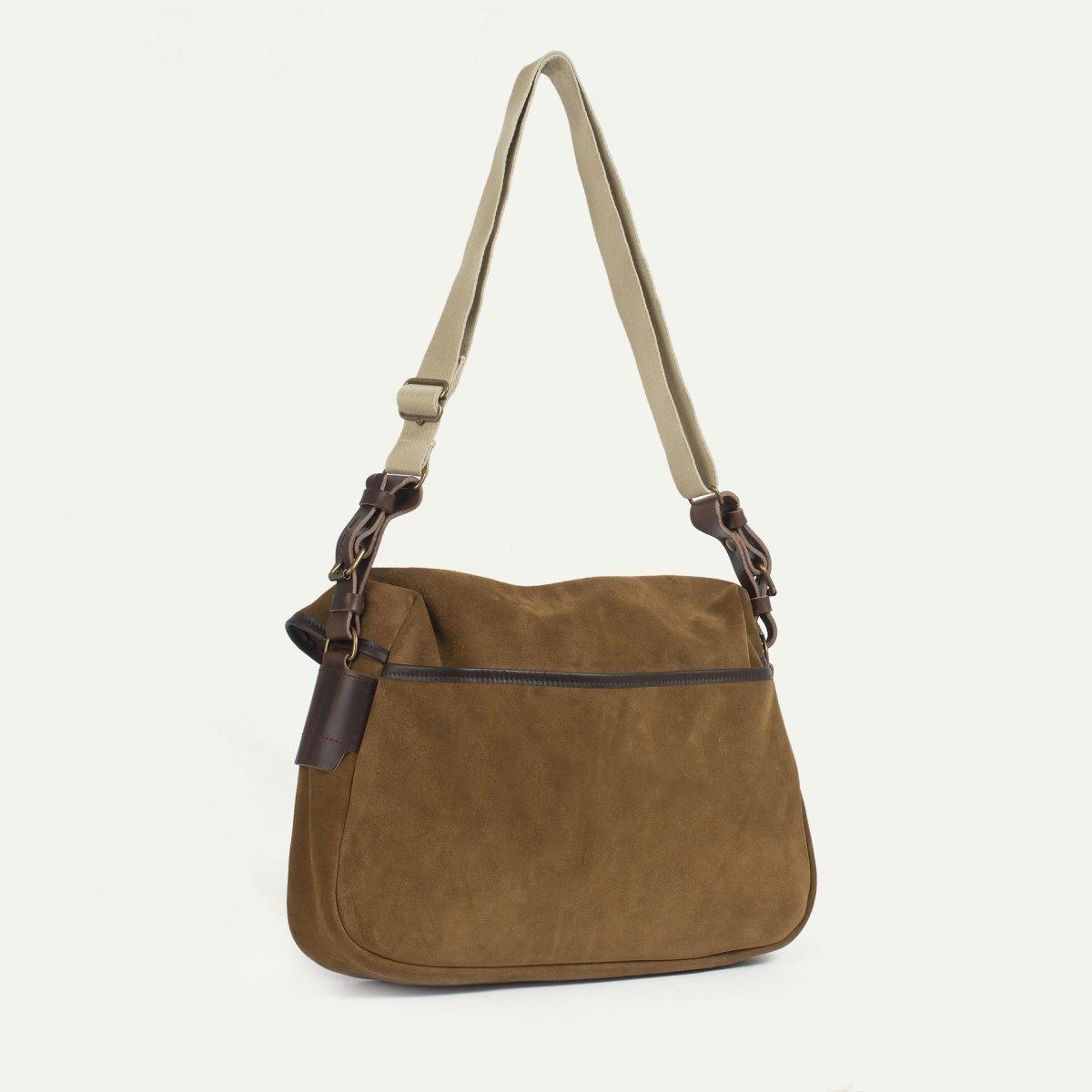 Fisherman's Musette M / Suede - Tobacco (image n°3)