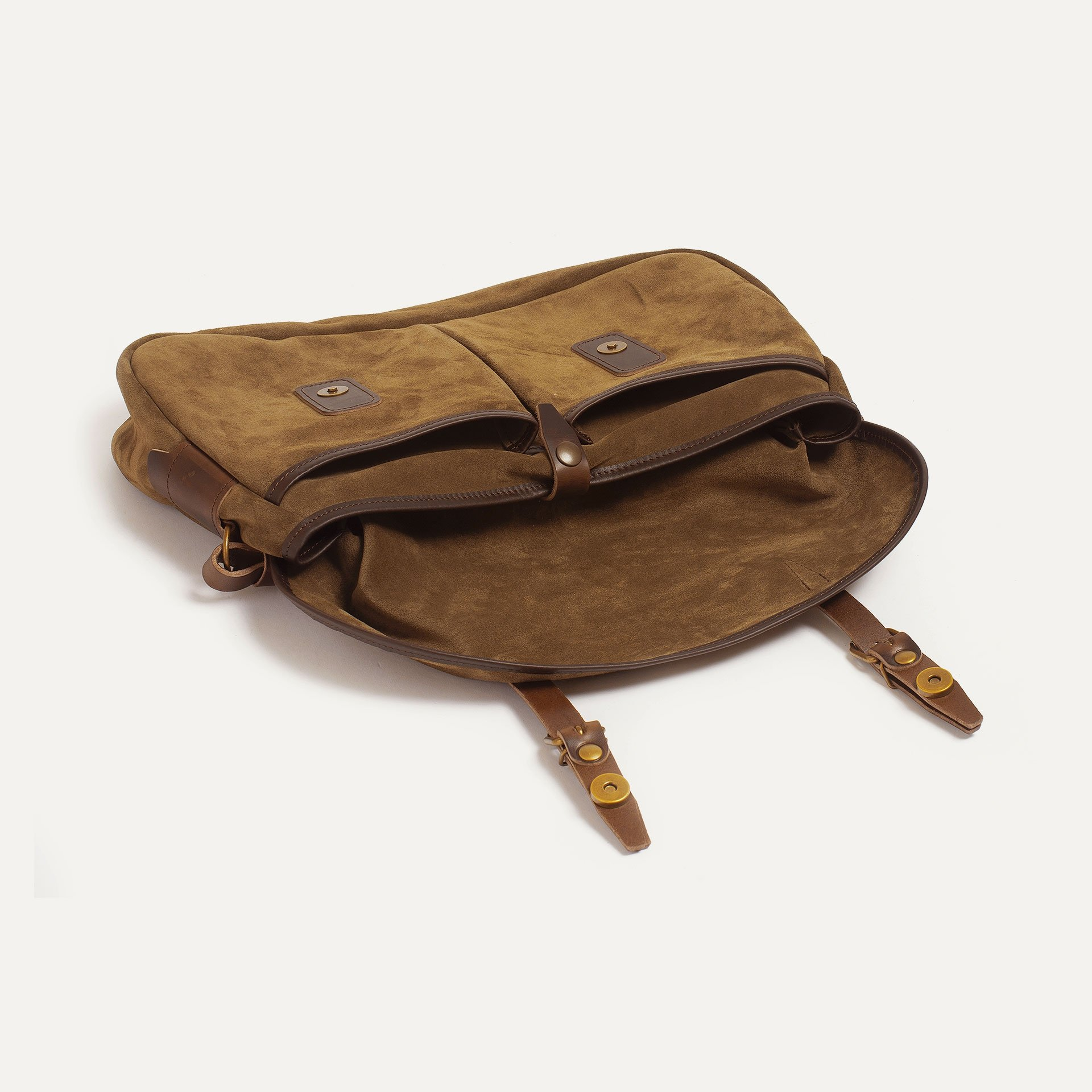 Fisherman's Musette M / Suede - Tobacco (image n°4)