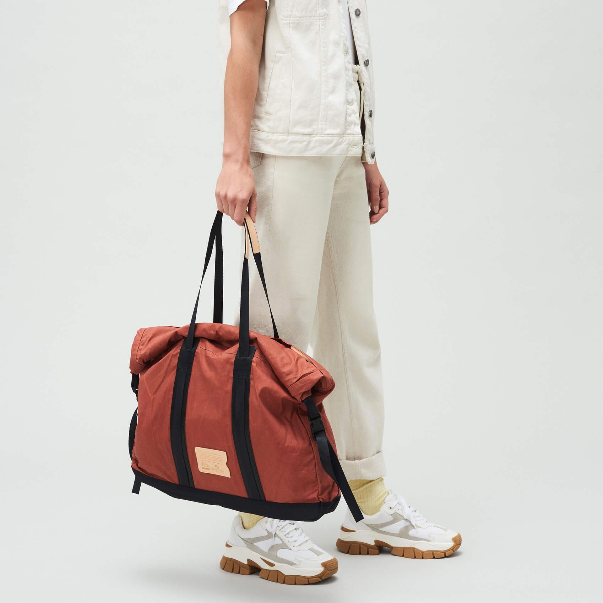 15L Barda Tote bag - Burgundy (image n°5)