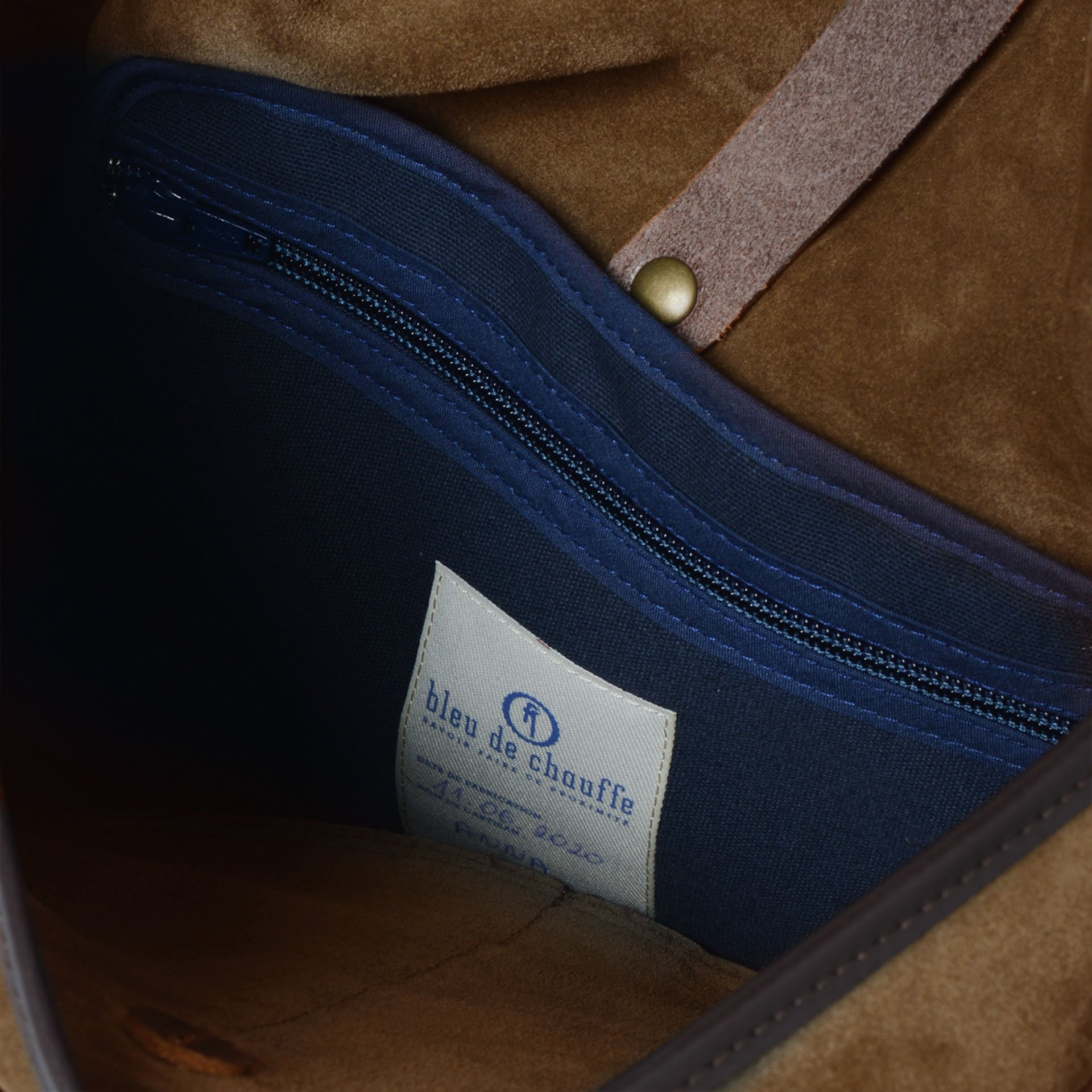 Fisherman's Musette M / Suede - Tobacco (image n°5)
