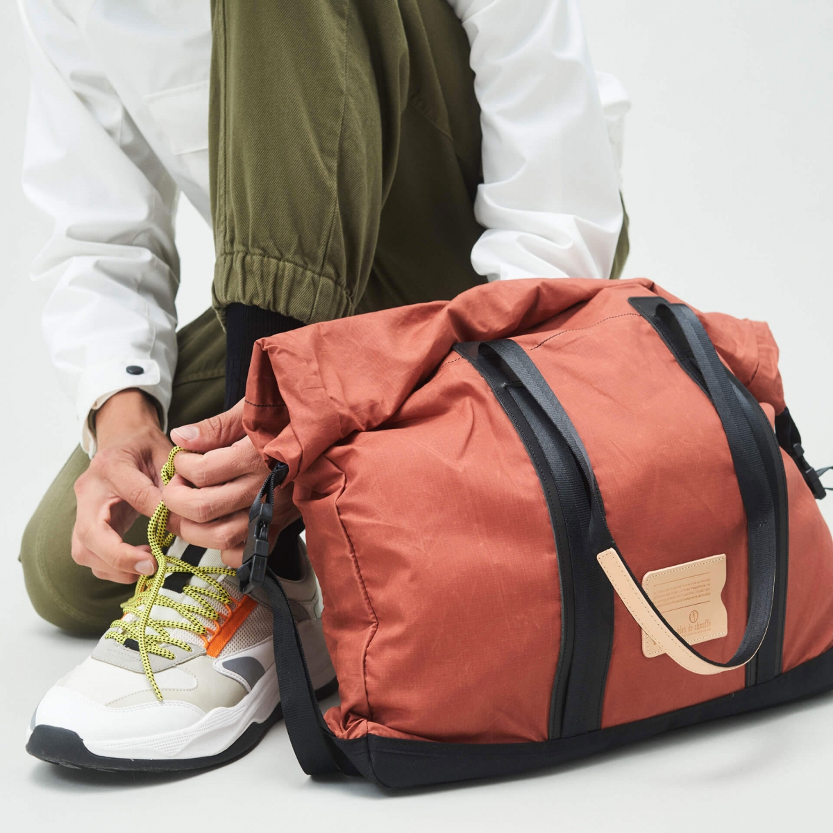 15L Barda Tote bag - Burgundy (image n°6)