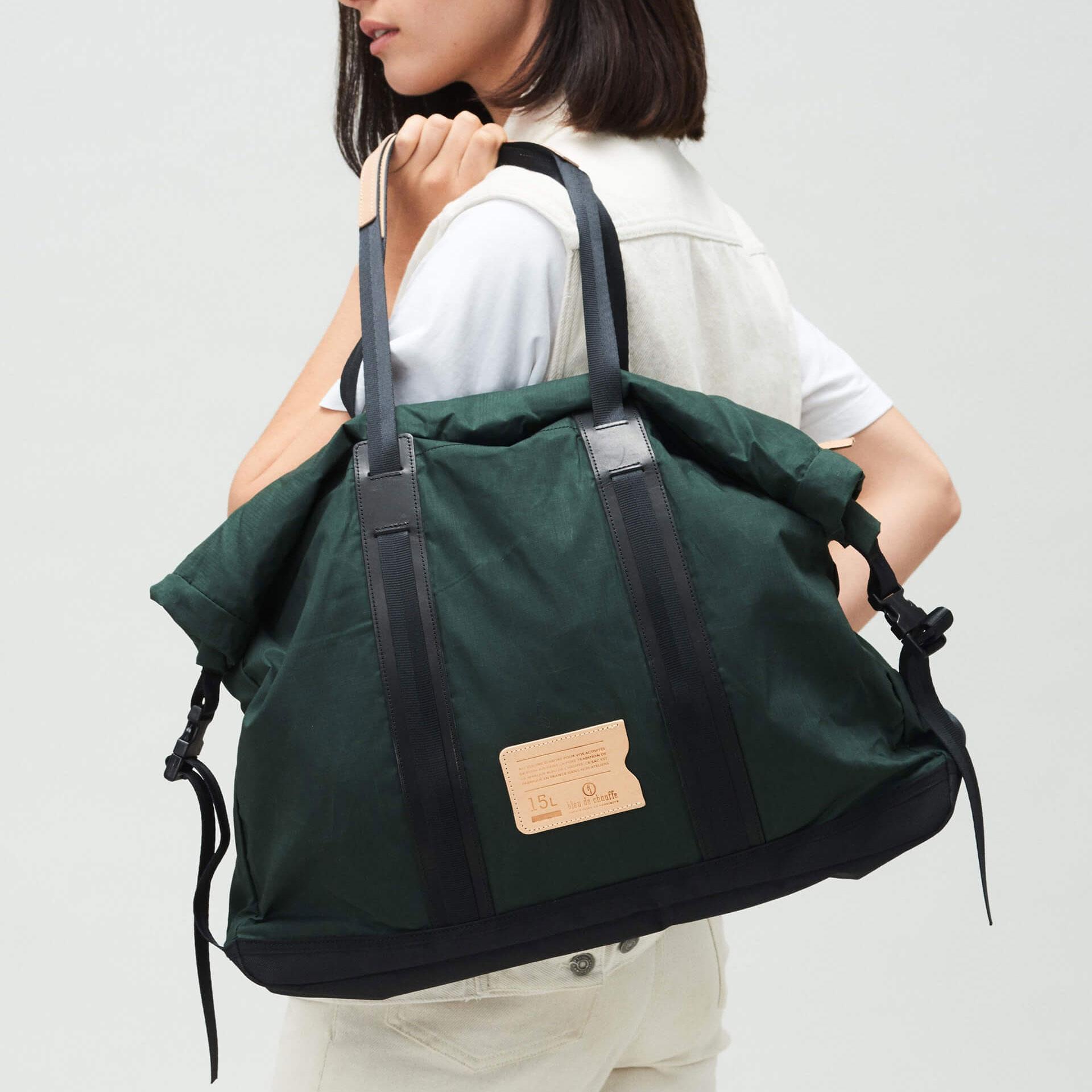 15L Barda Tote bag - Dark Khaki (image n°5)