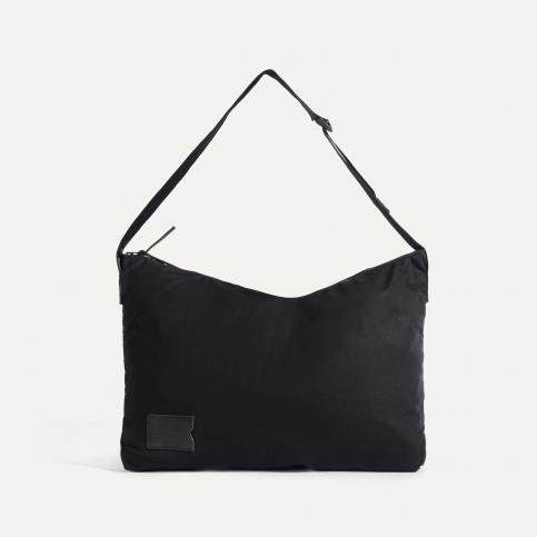 Baston Messenger Bag - Black