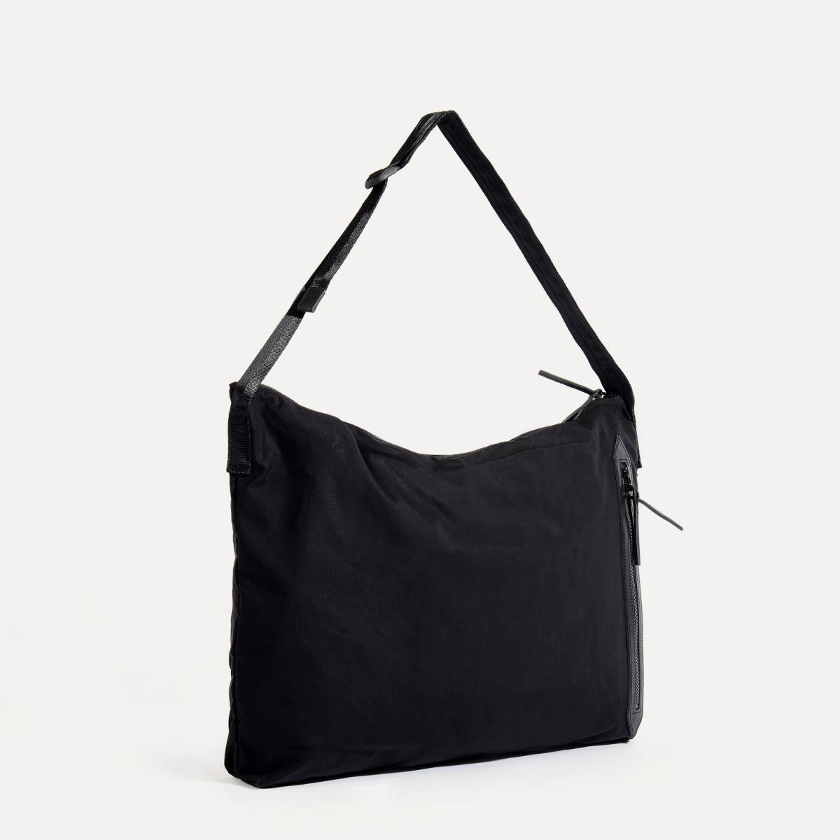 Baston Messenger Bag - Black (image n°2)