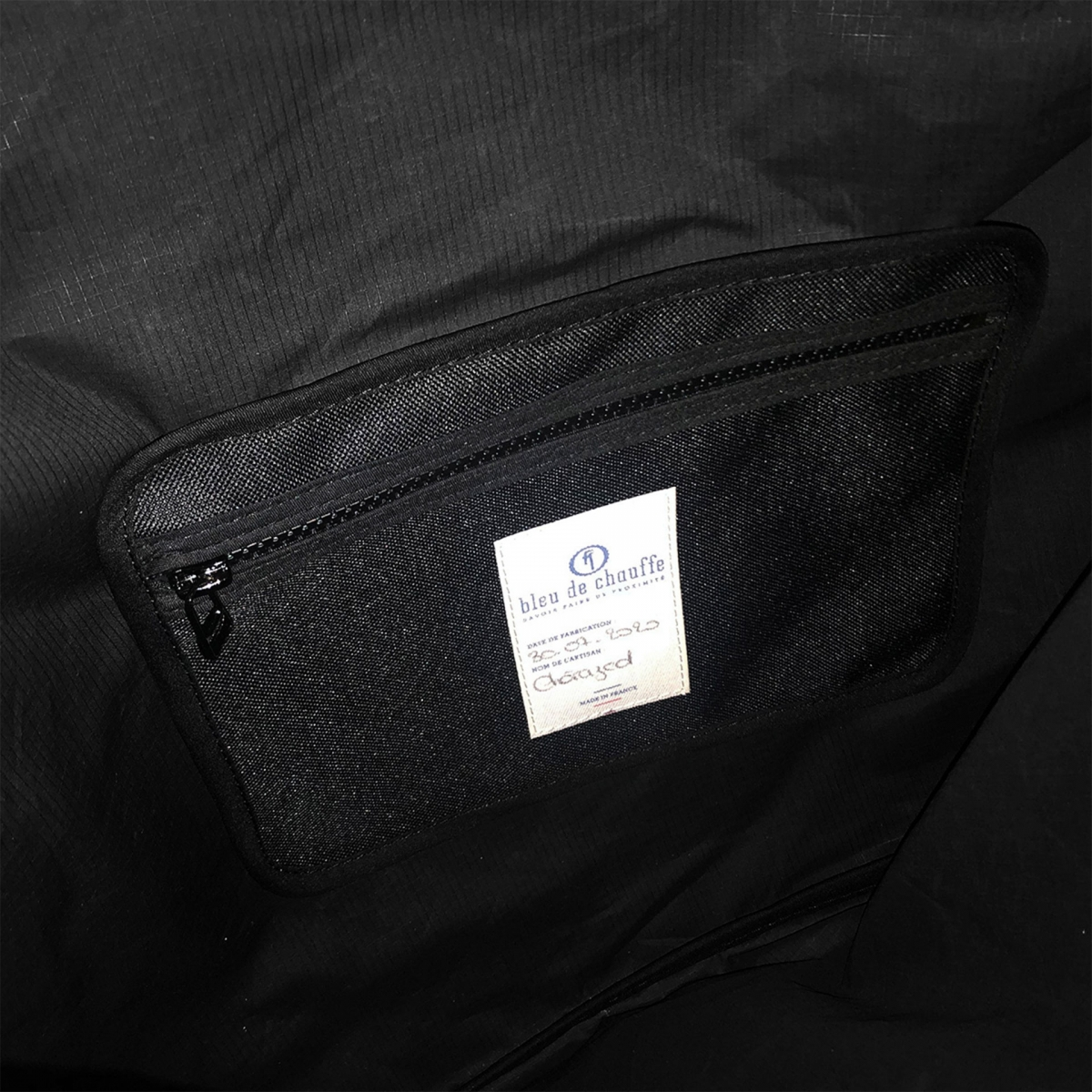 Baston Messenger Bag - Black (image n°3)