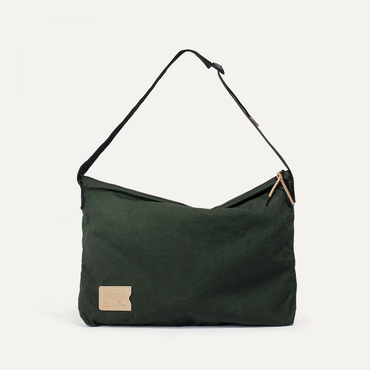 Baston Messenger Bag - Dark Khaki (image n°1)