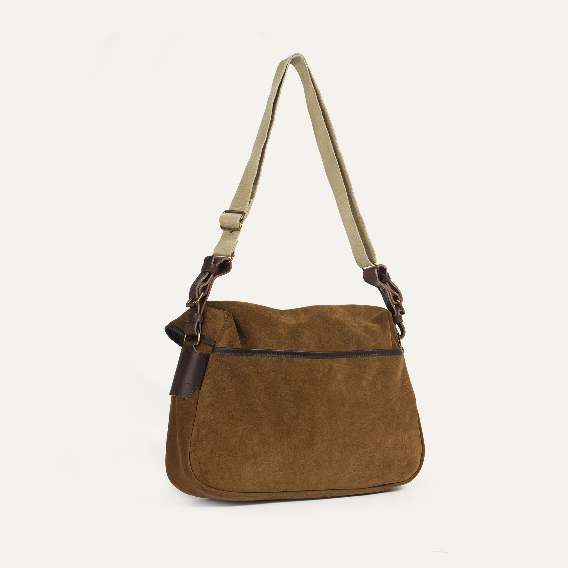 Fisherman's Musette S / Suede - Tobacco (image n°3)