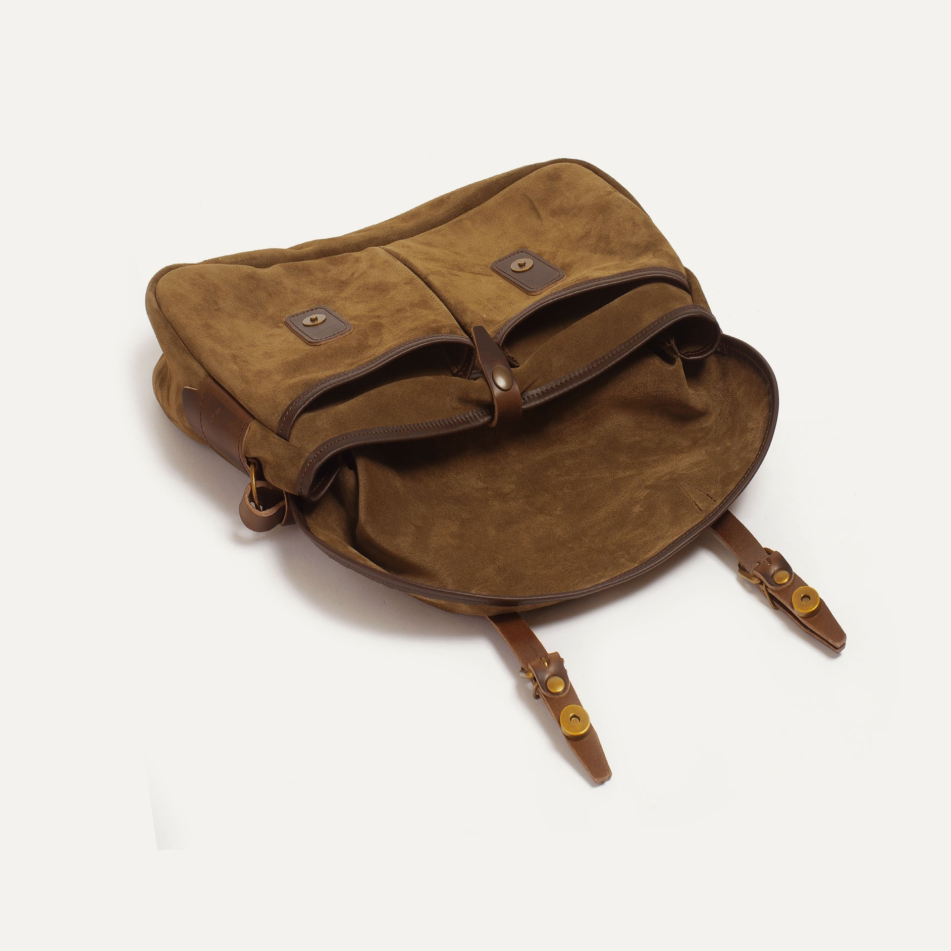 Fisherman's Musette S / Suede - Tobacco (image n°4)