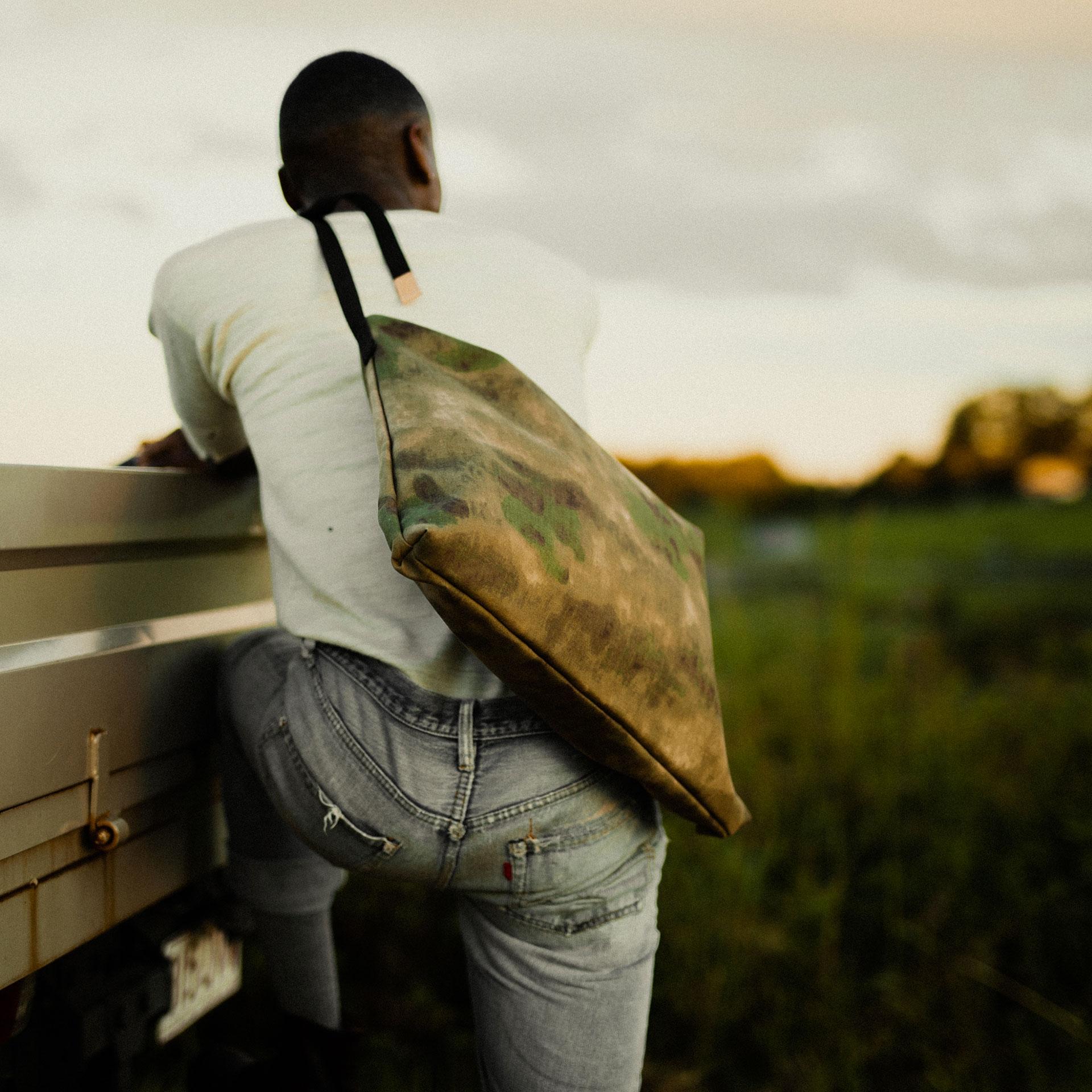 Baston Messenger Bag - Camo (image n°4)