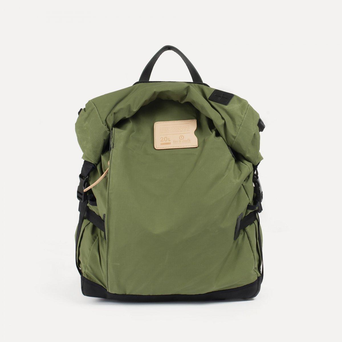 20L Basile Backpack - Bancha Green (image n°1)