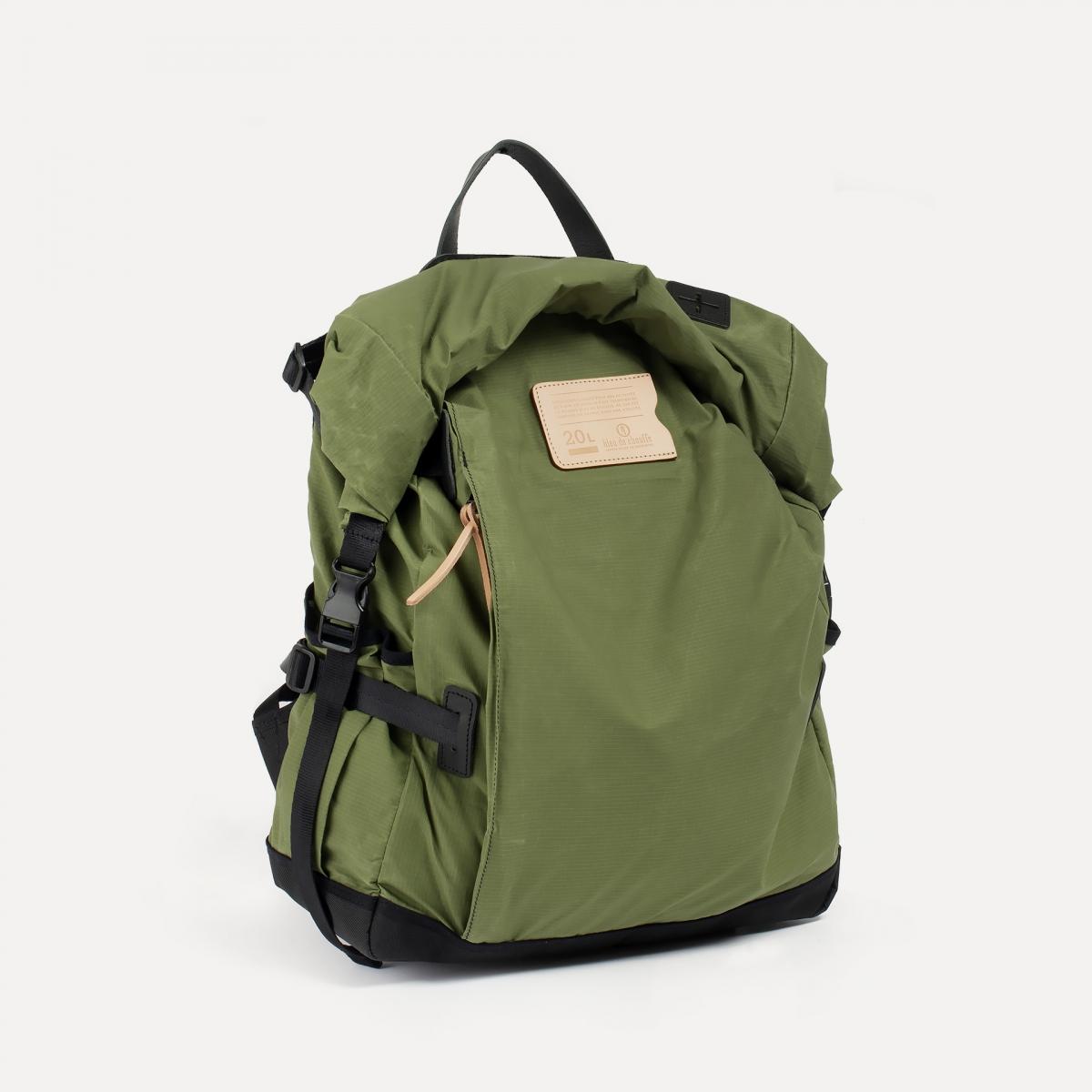 20L Basile Backpack - Bancha Green (image n°2)