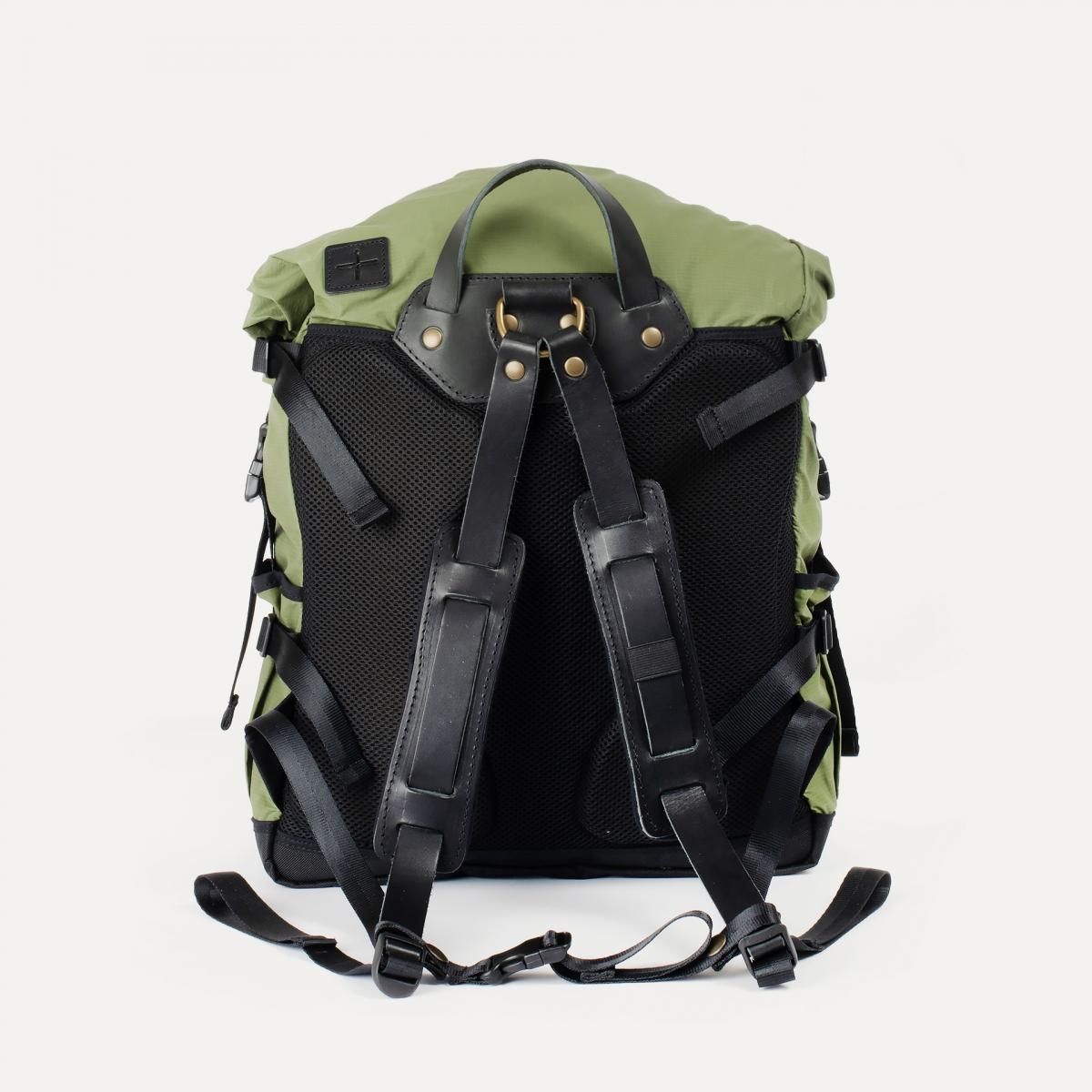 20L Basile Backpack - Bancha Green (image n°3)