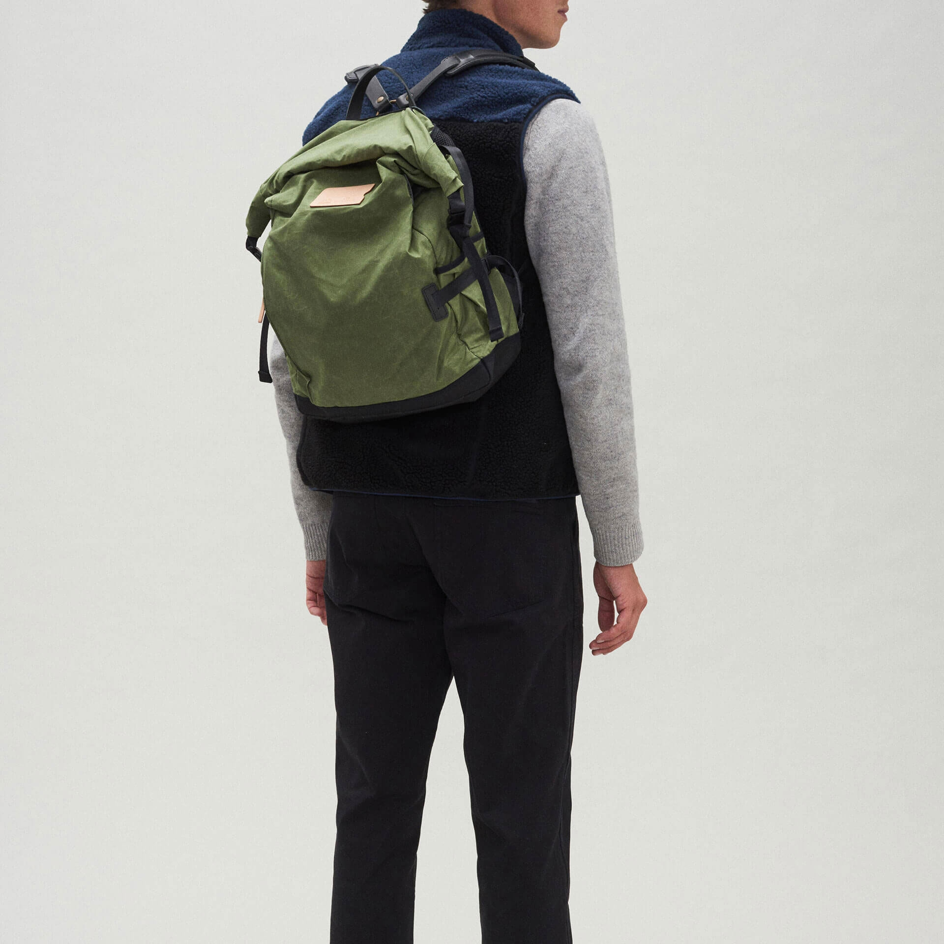 20L Basile Backpack - Bancha Green (image n°5)