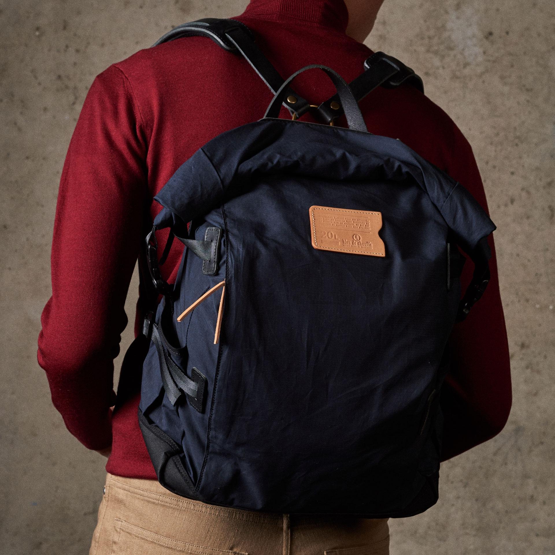 20L Basile Backpack - Hague Blue (image n°5)