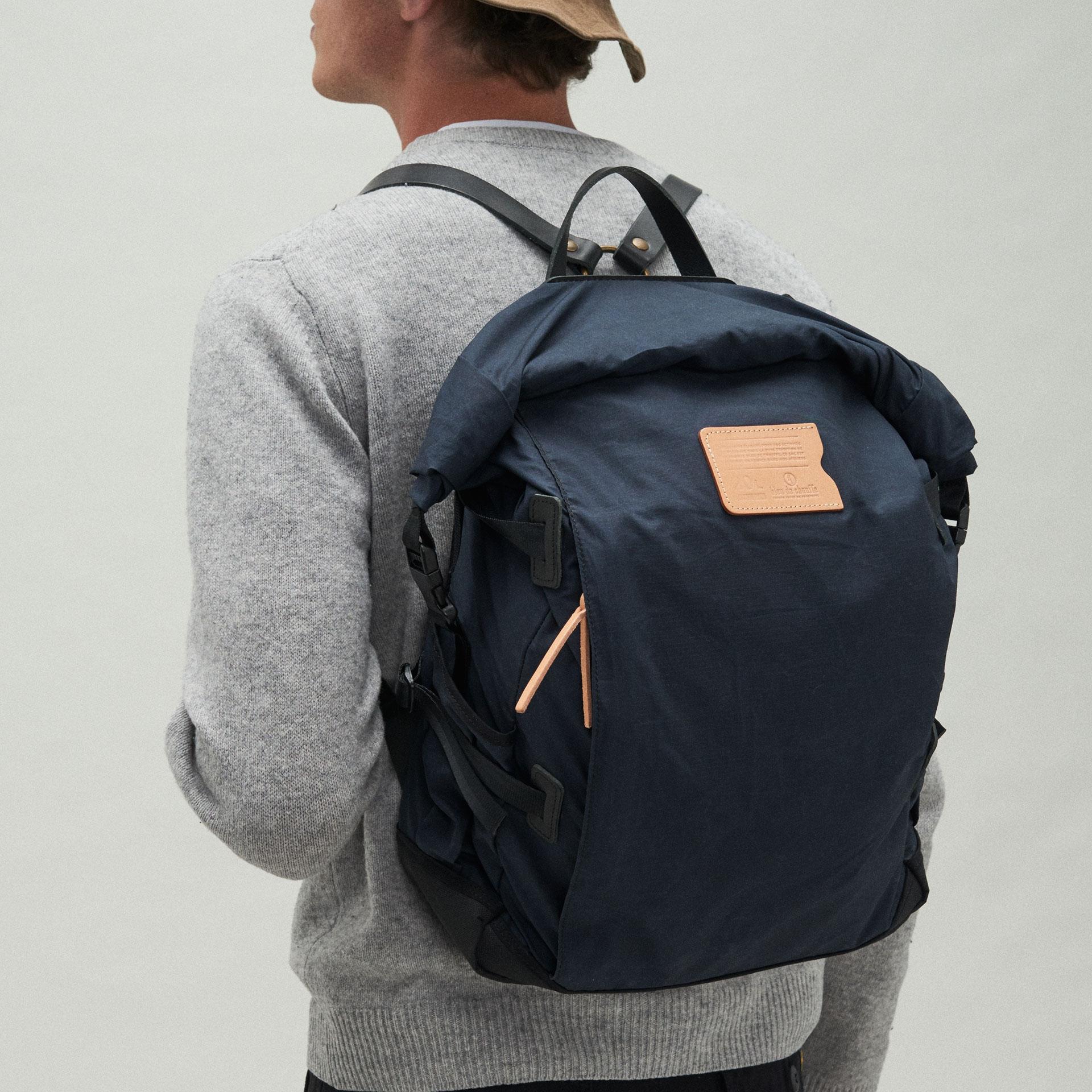 20L Basile Backpack - Hague Blue (image n°6)