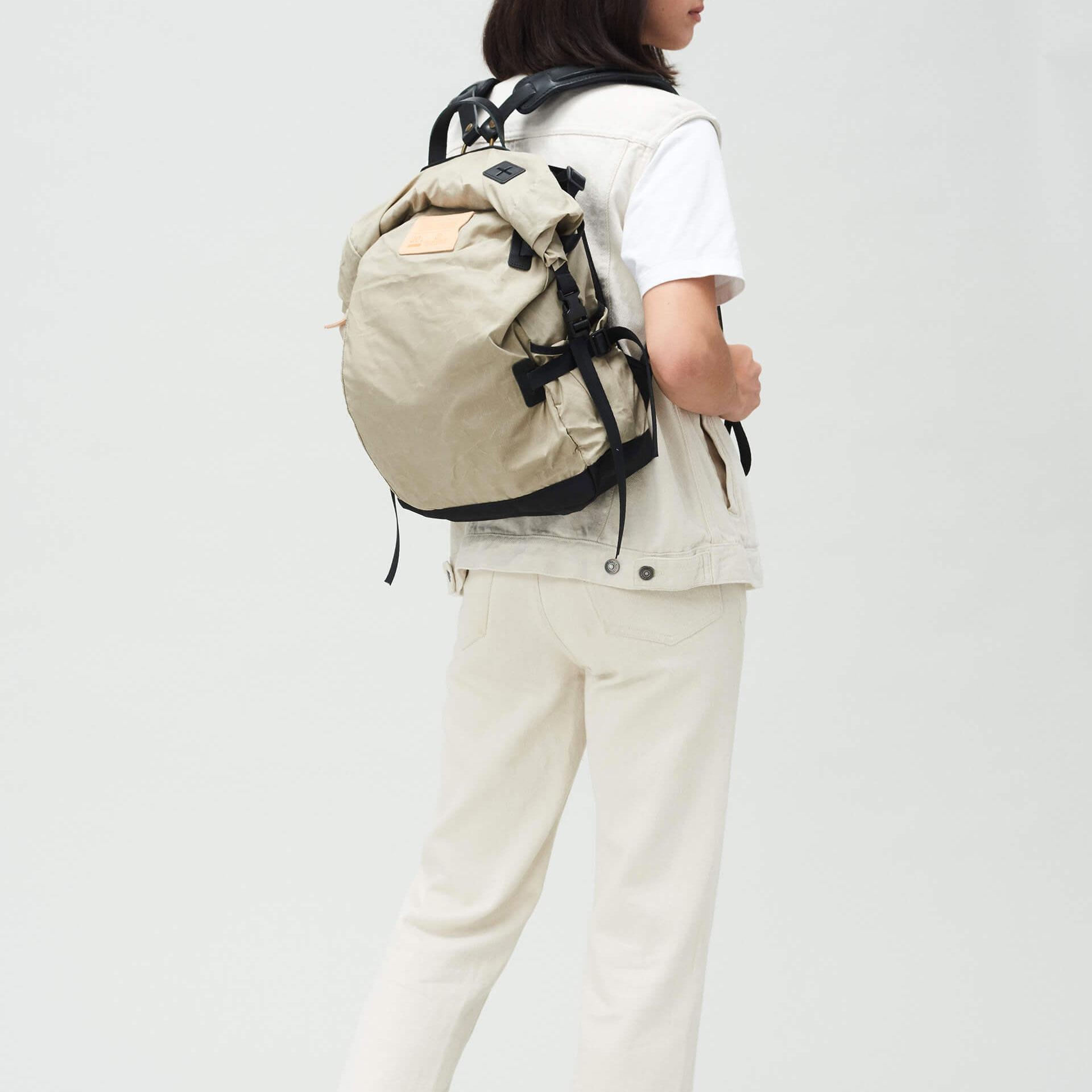 20L Basile Backpack - Beige (image n°5)