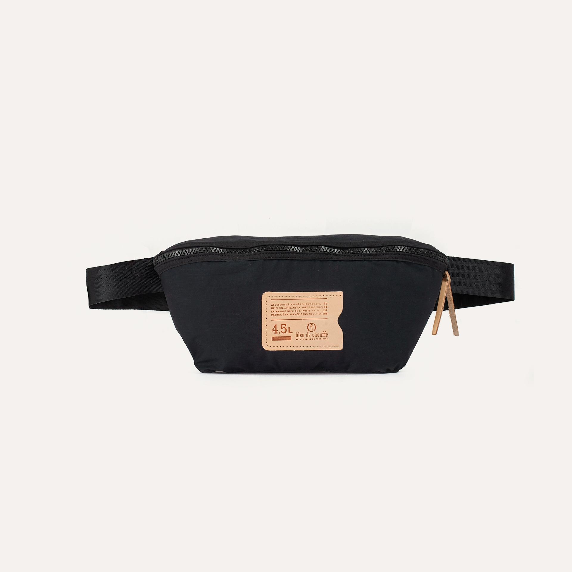 4,5L Beat Belt bag - Black (image n°1)