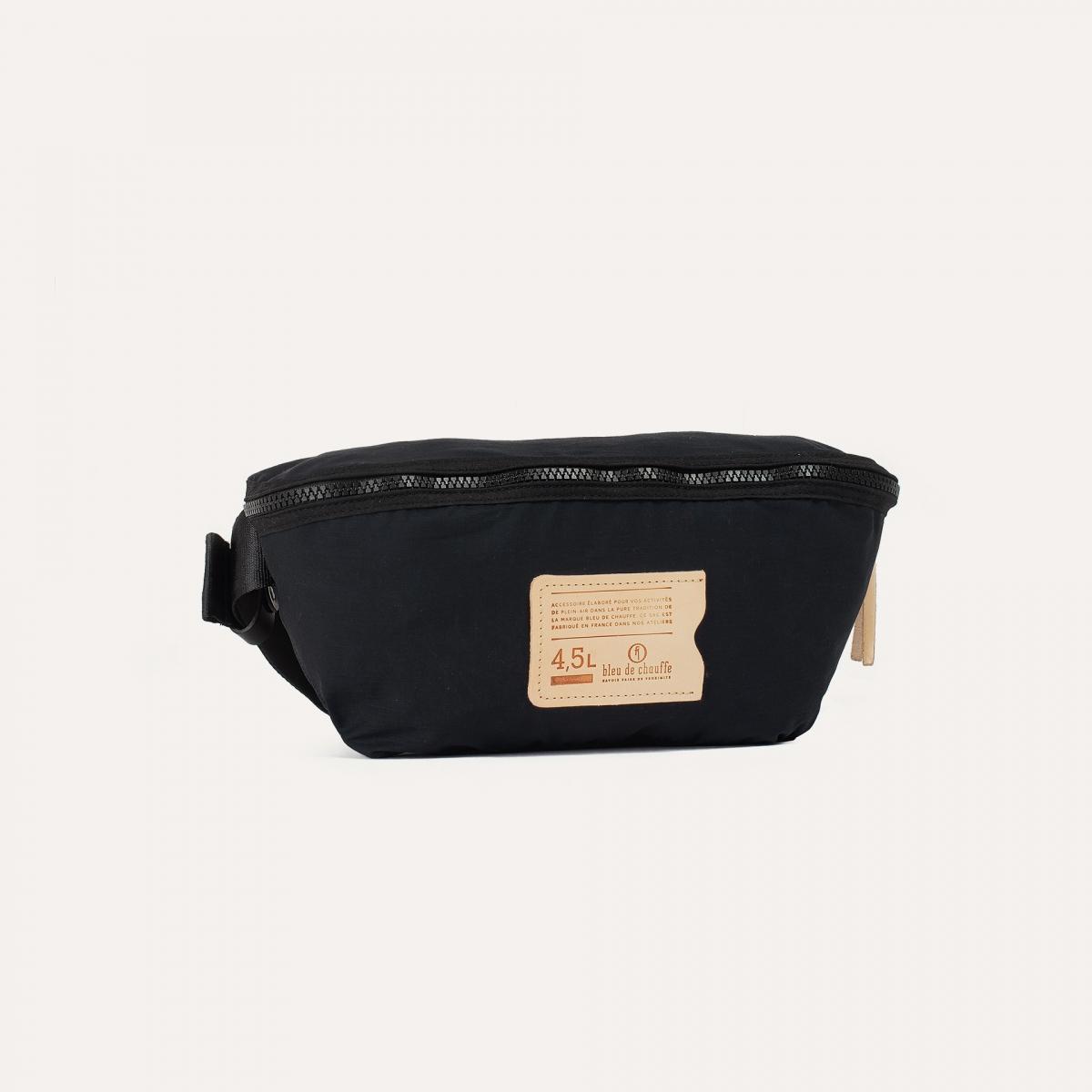 4,5L Beat Belt bag - Black (image n°2)