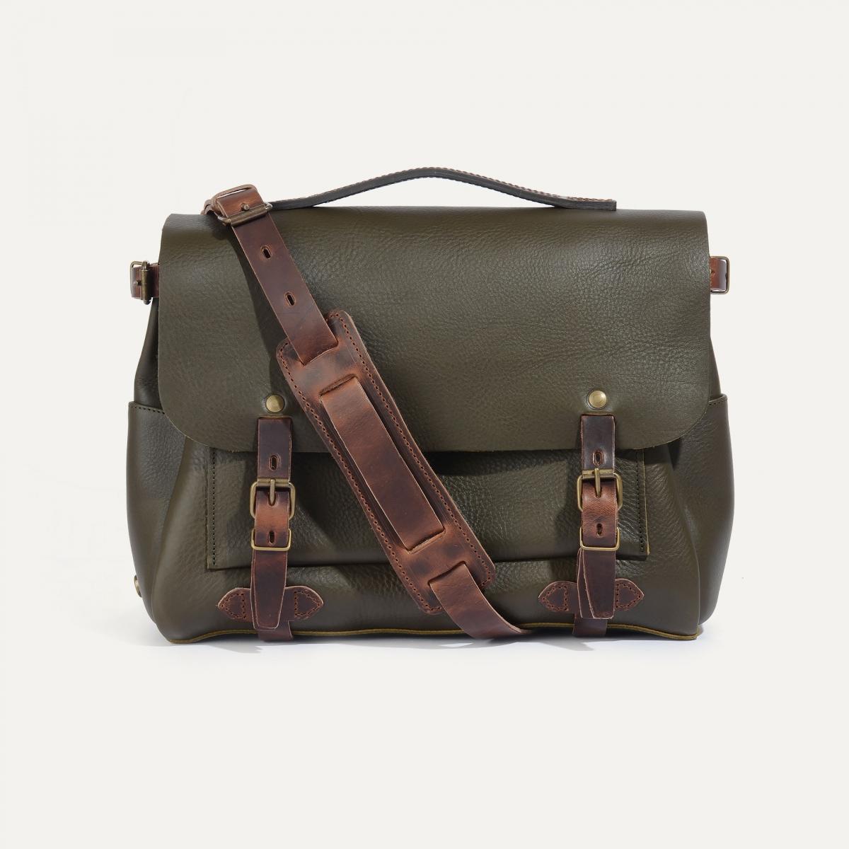 Postman bag Eclair M - Khaki (image n°1)