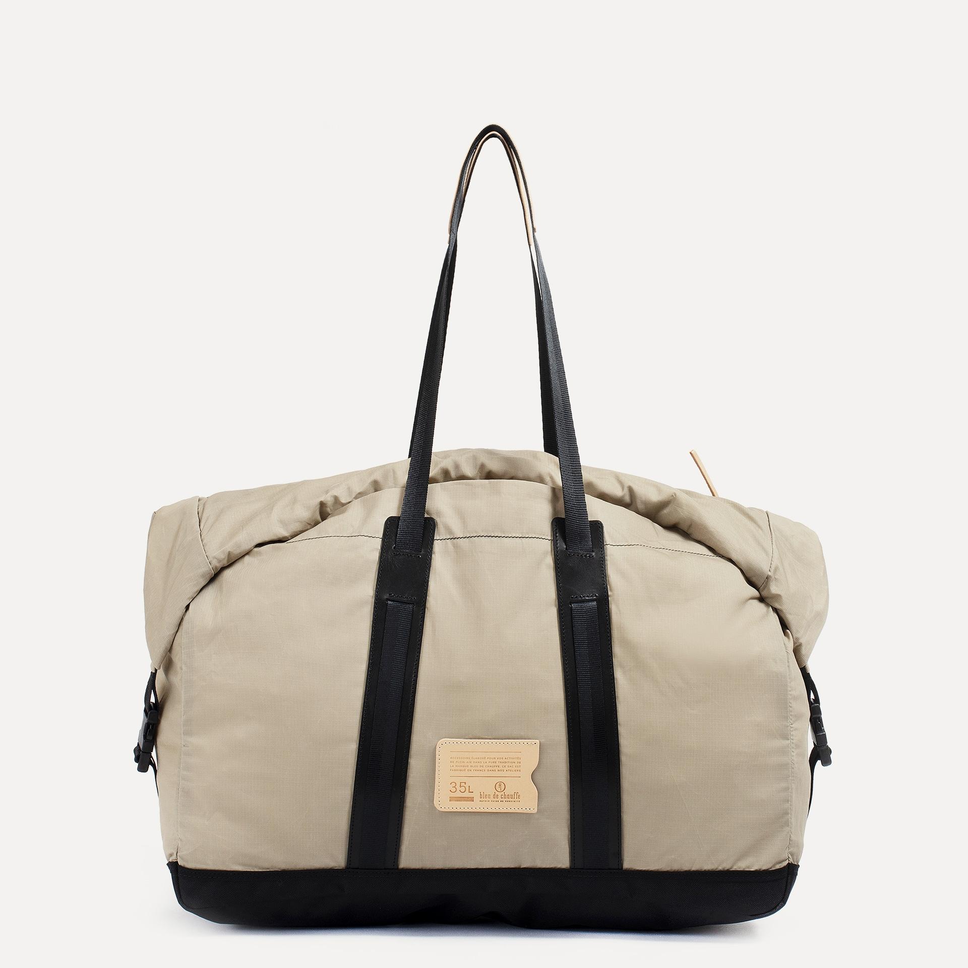 35L Baroud Travel bag - Beige (image n°1)