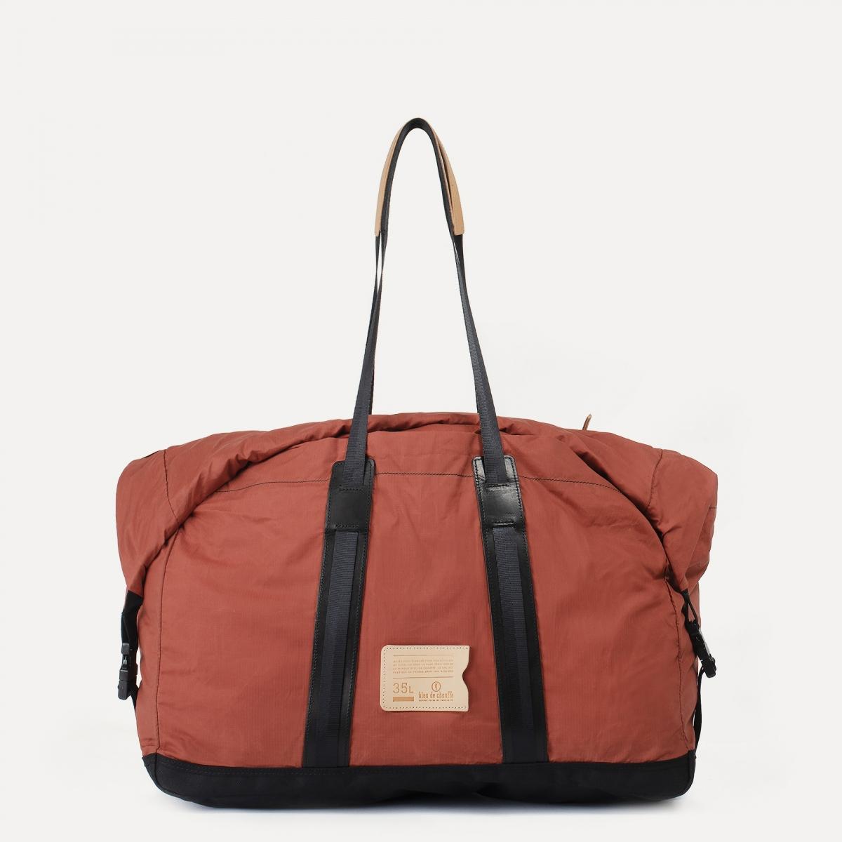 35L Baroud Travel bag - Burgundy (image n°1)