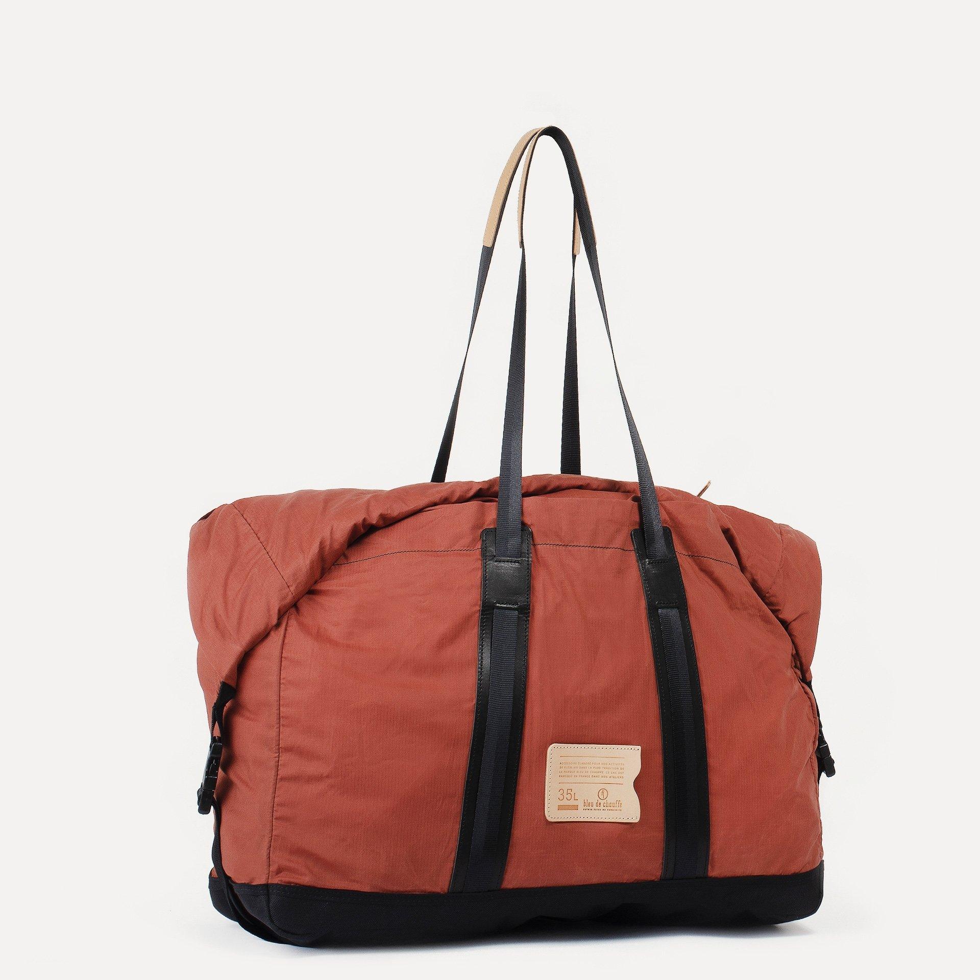 35L Baroud Travel bag - Burgundy (image n°2)