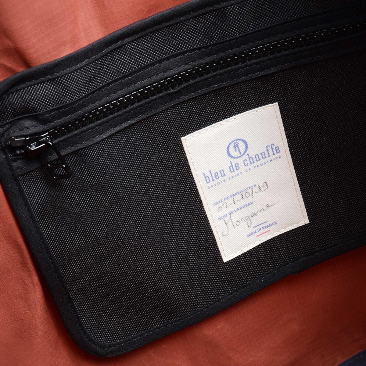 35L Baroud Travel bag - Burgundy (image n°4)