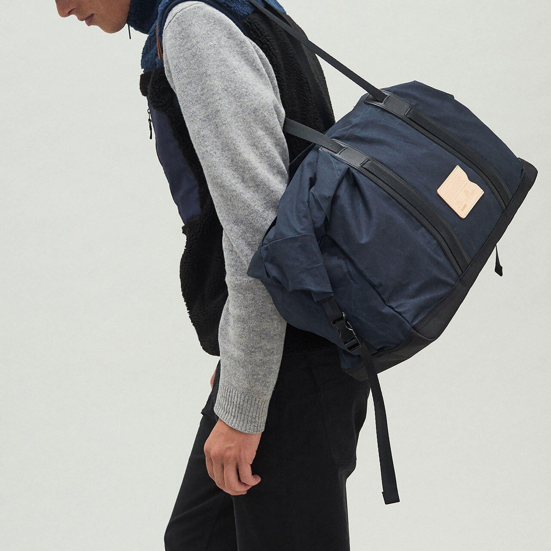 35L Baroud Travel bag - Burgundy (image n°5)