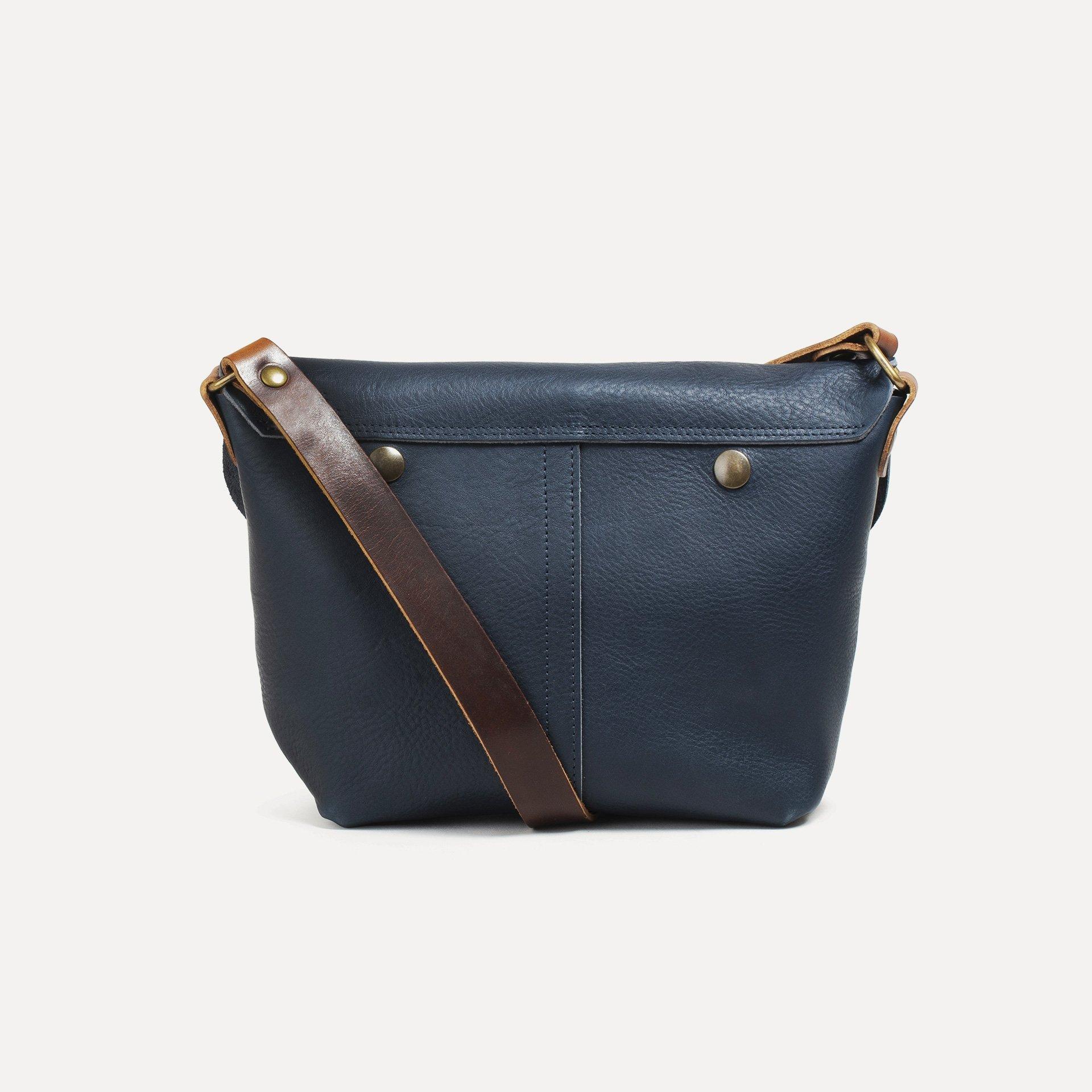 Louis Satchel bag - Navy Blue (image n°3)