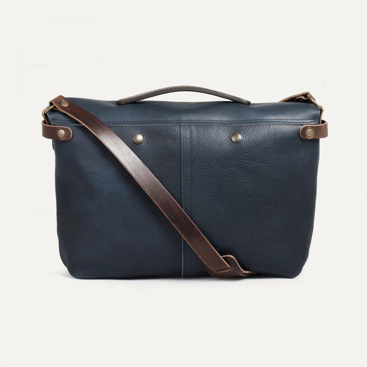 Lucien Satchel bag - Navy Blue (image n°3)