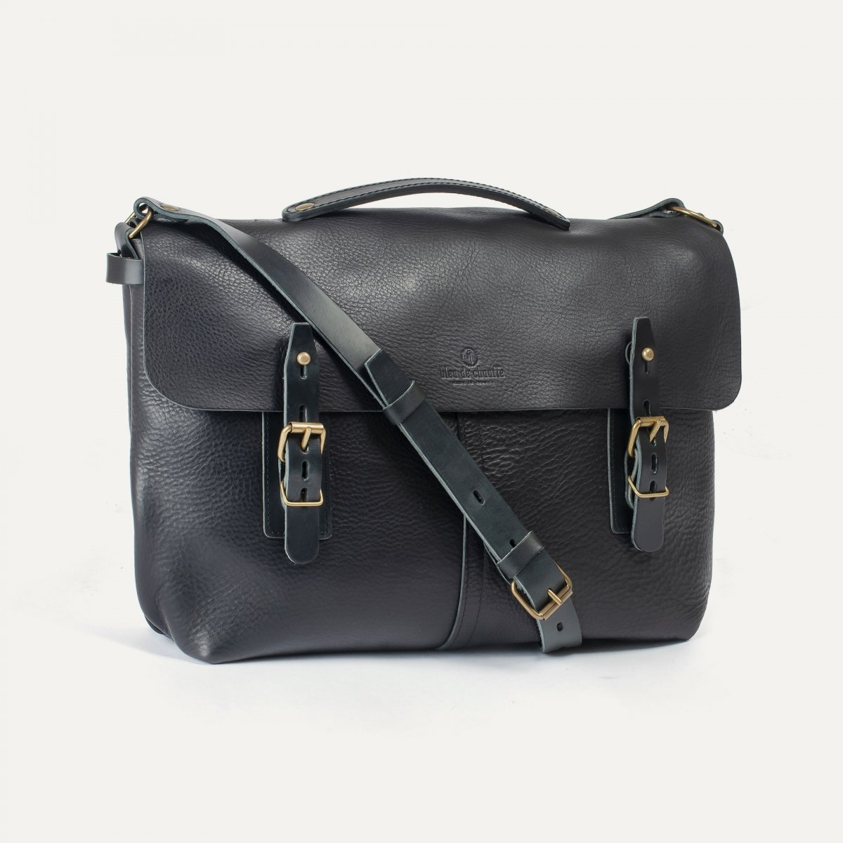 Lucien Satchel bag - Black (image n°3)