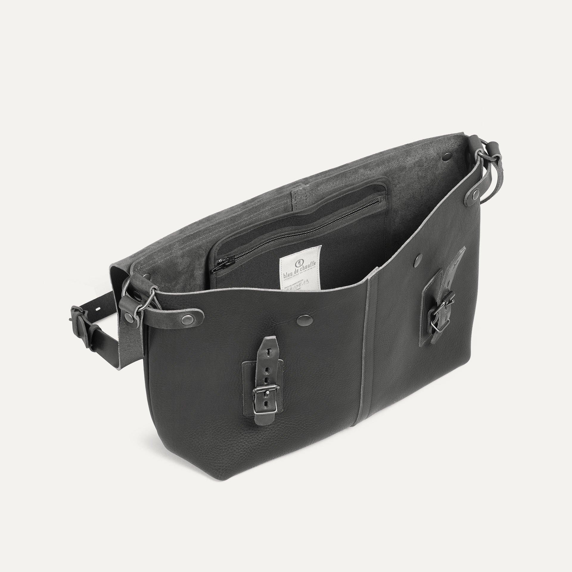 Lucien Satchel bag - Black (image n°4)