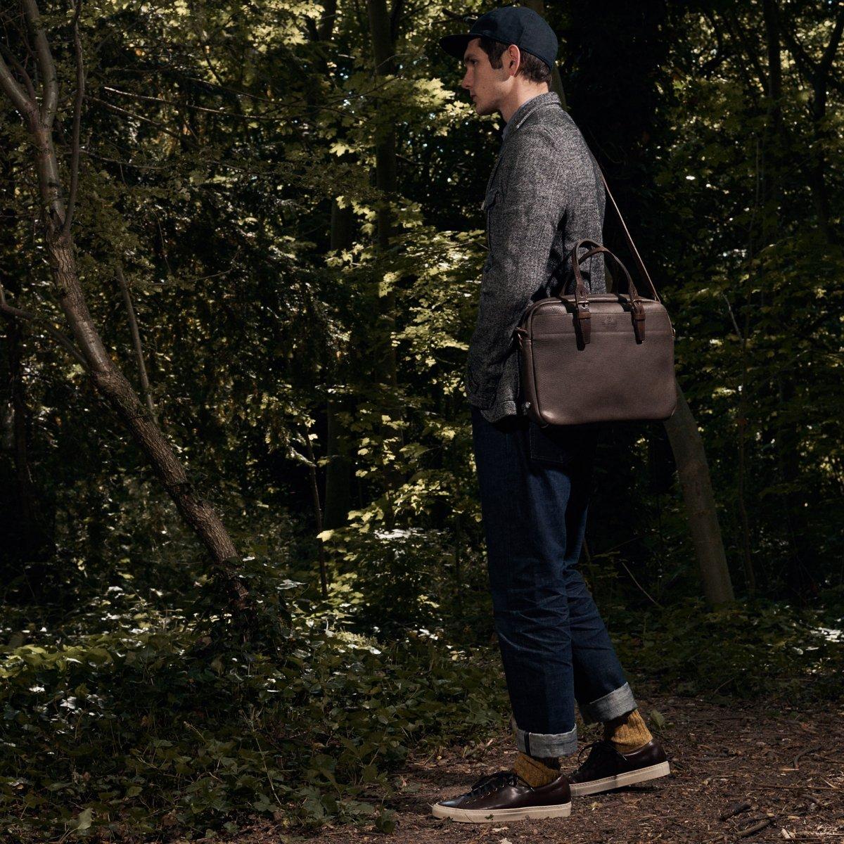 Folder Business bag - Peat (image n°6)