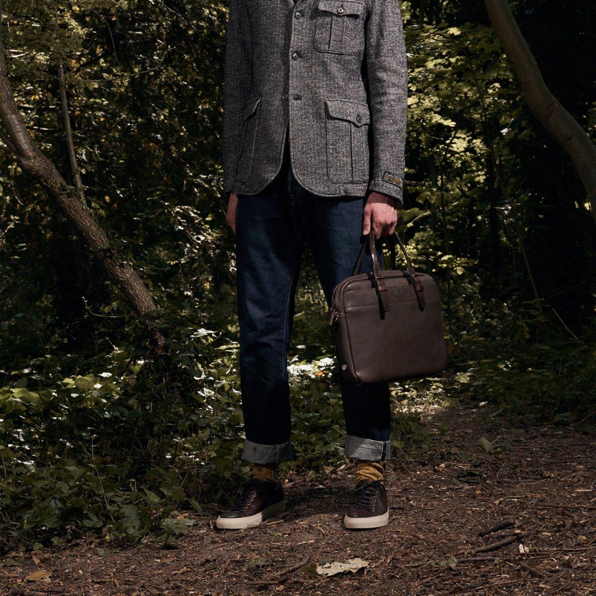 Folder Business bag - Peat (image n°7)
