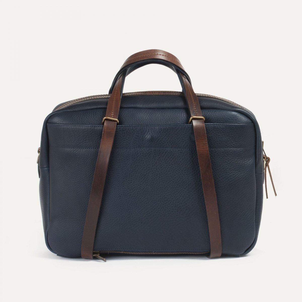 Report Business bag - Navy blue/Pain Brûlé (image n°3)