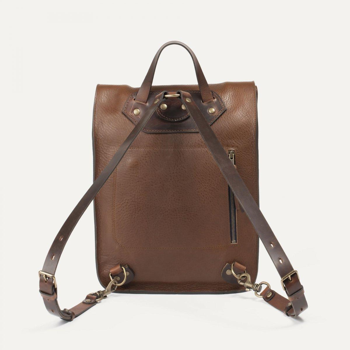 Puncho leather backpack - Cuba Libre / E Pure (image n°2)