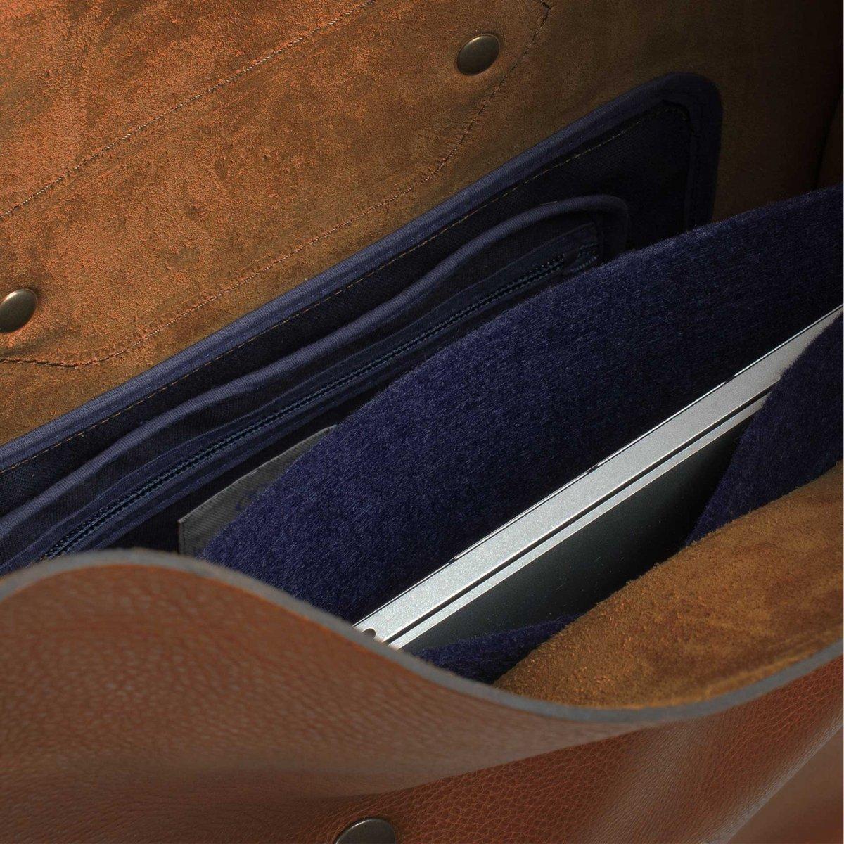 Puncho leather backpack - Cuba Libre / E Pure (image n°4)