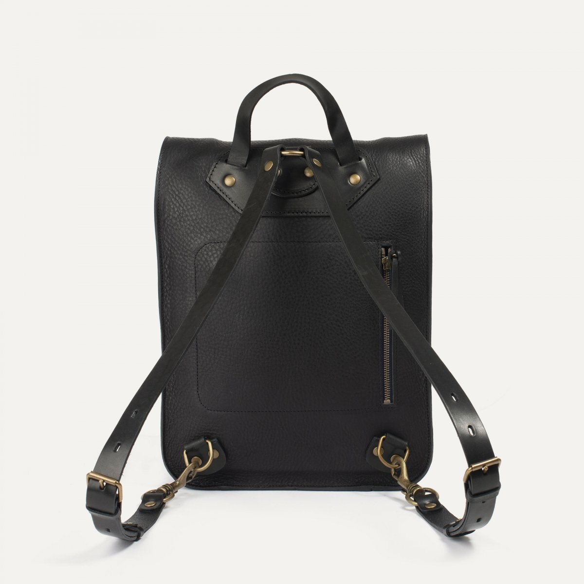 Puncho leather backpack - Black / E Pure (image n°3)