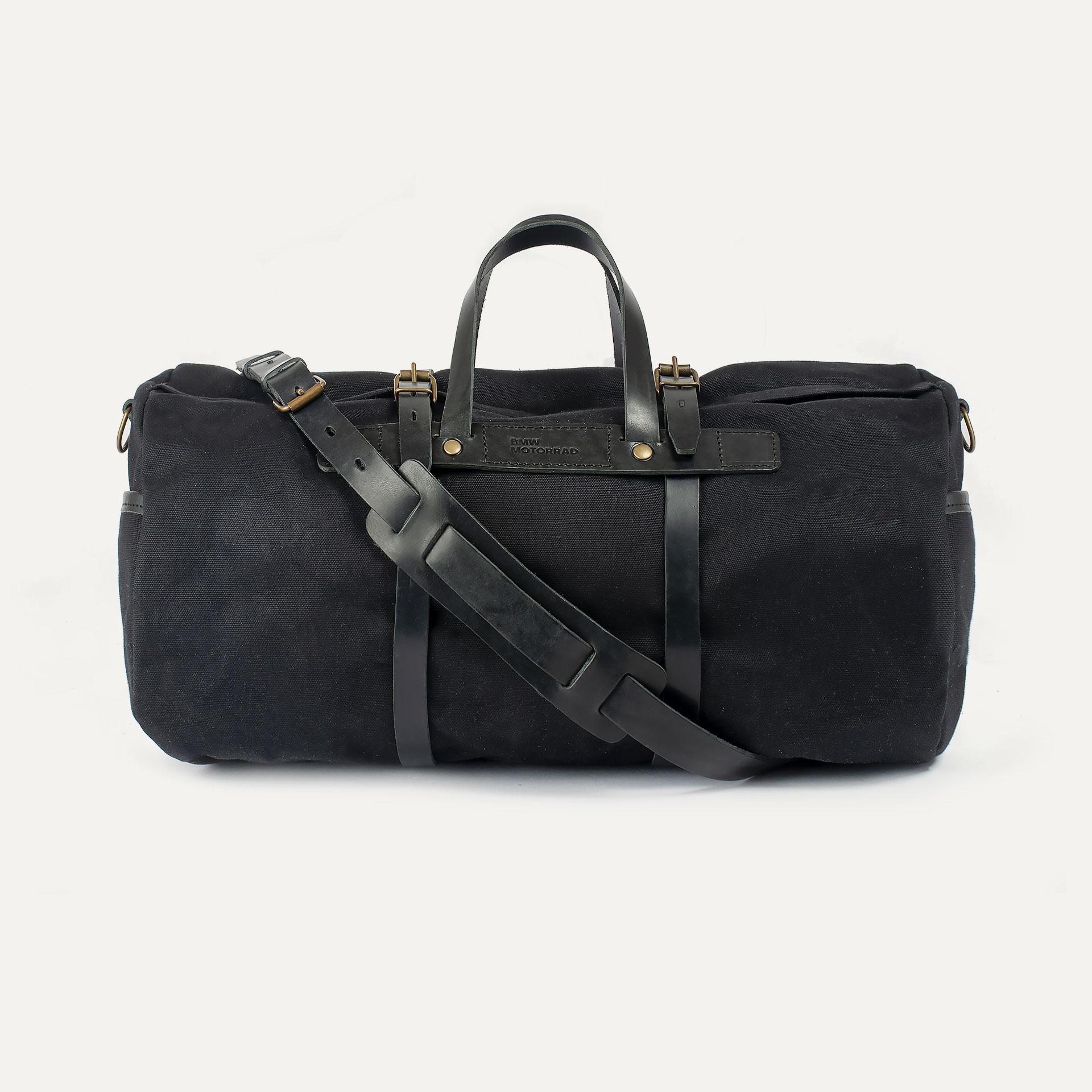 Canvas 'Bivouac' bag – Black (image n°1)