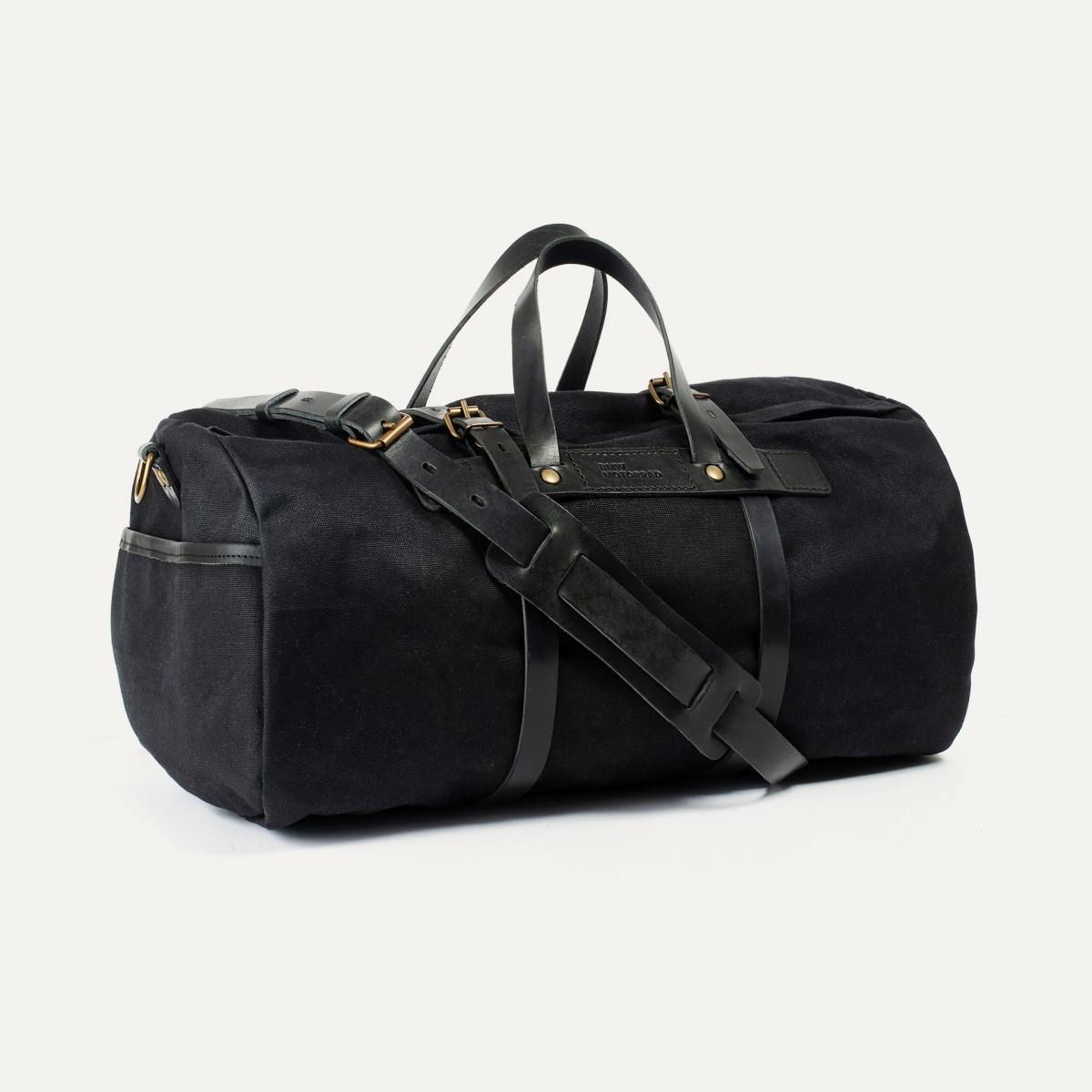 Canvas 'Bivouac' bag – Black (image n°2)