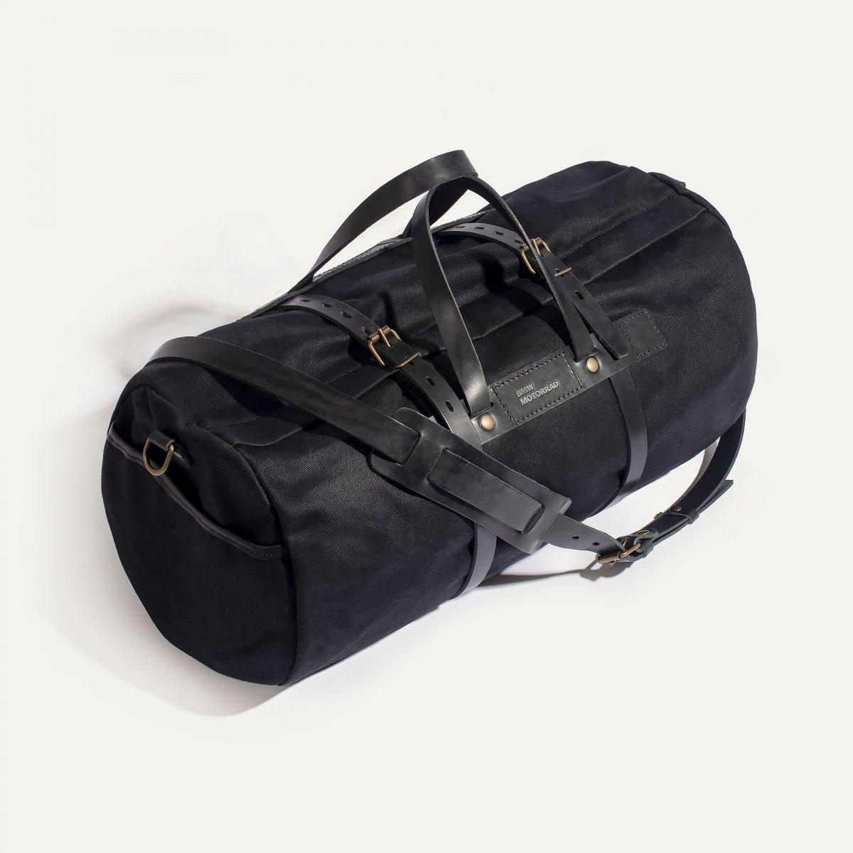Canvas 'Bivouac' bag – Black (image n°3)