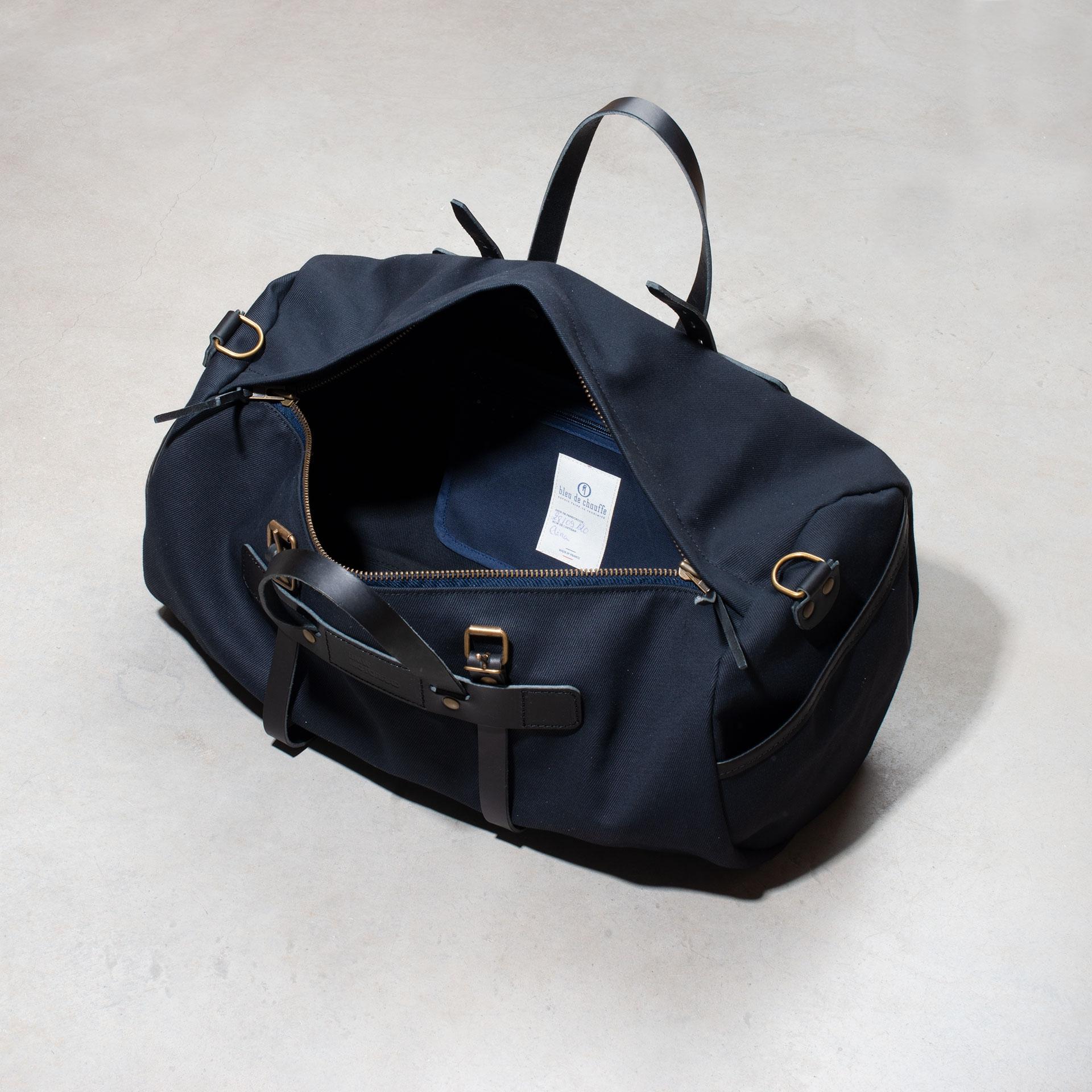 Canvas 'Bivouac' bag – Black (image n°4)