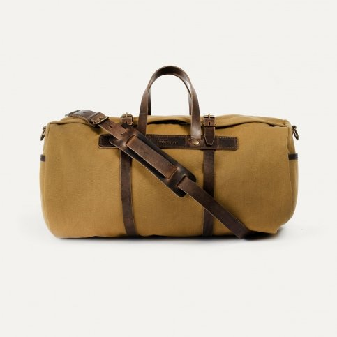 Canvas 'Bivouac' bag – Camel