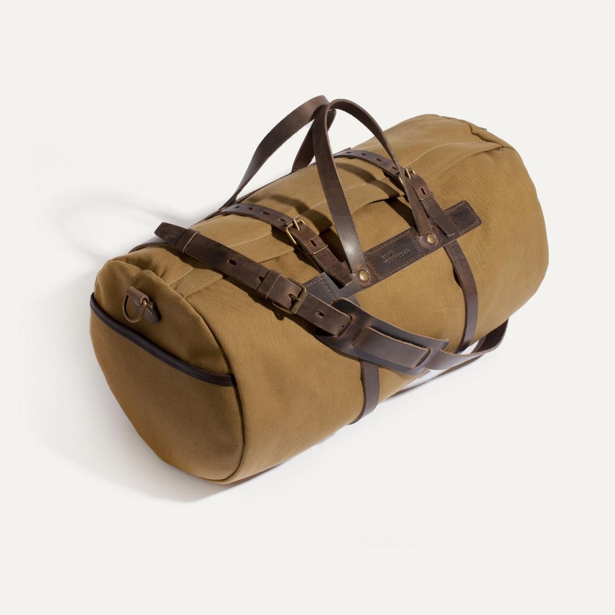 Canvas 'Bivouac' bag – Camel (image n°3)