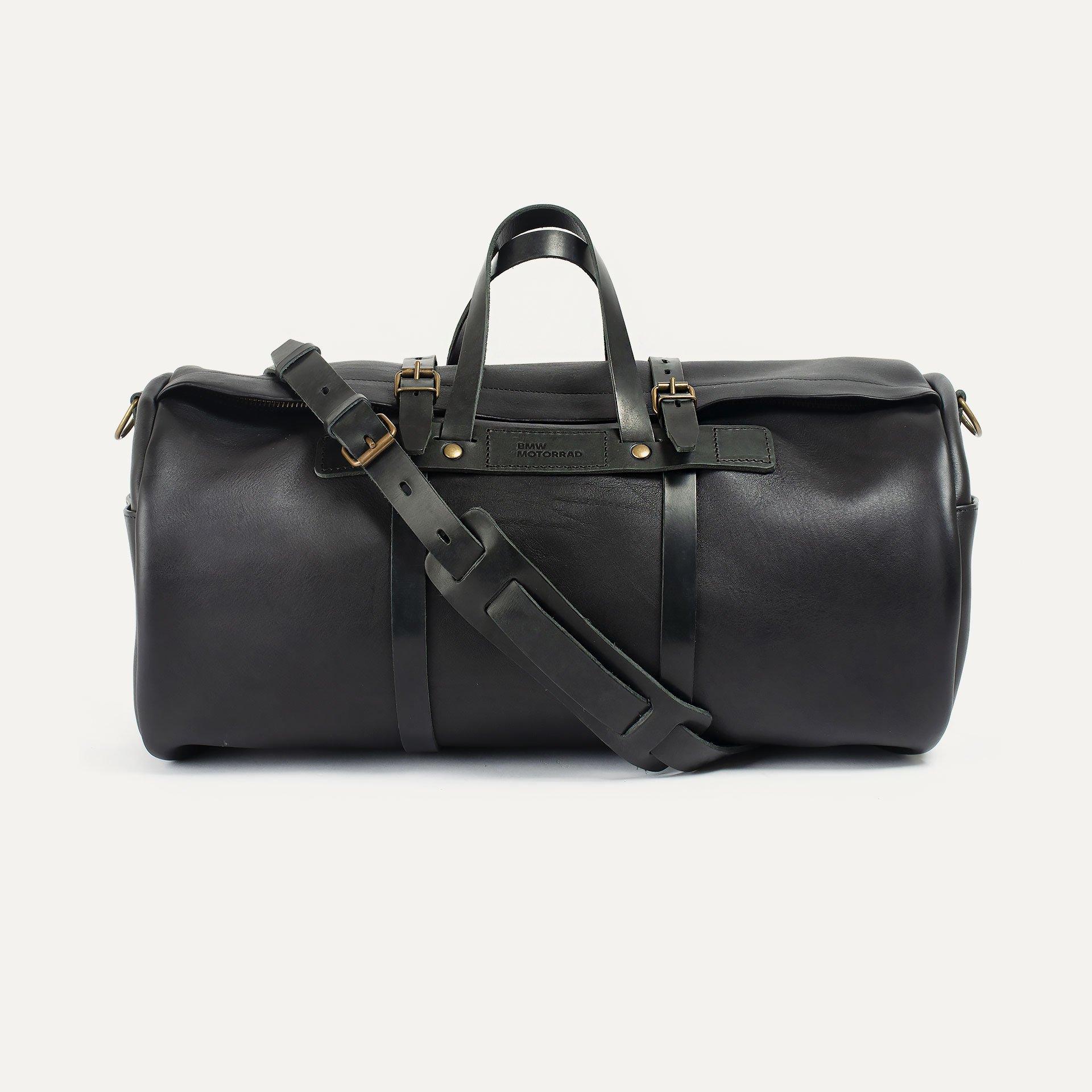 Leather 'Bivouac' bag – Black (image n°1)