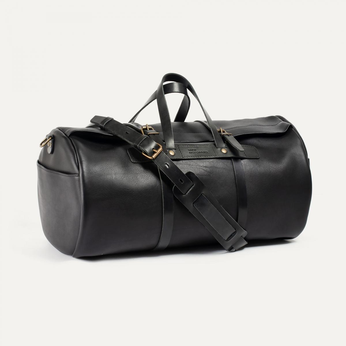 Leather 'Bivouac' bag – Black (image n°2)